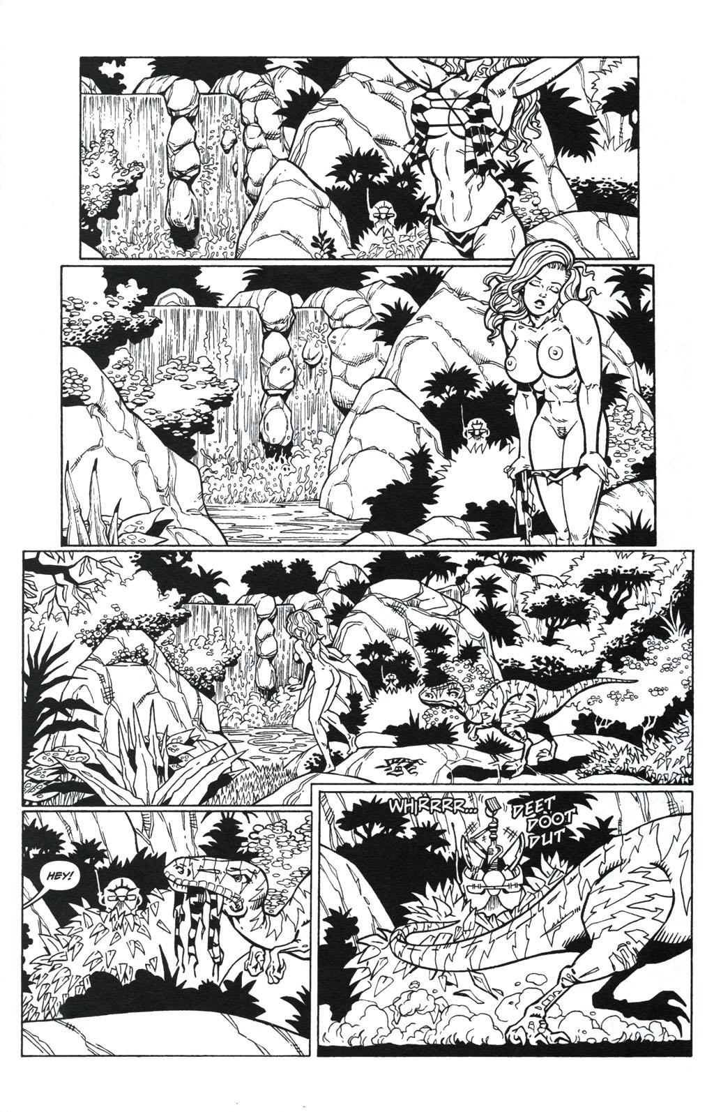 Read online Jungle Fantasy (2002) comic -  Issue #5 - 5