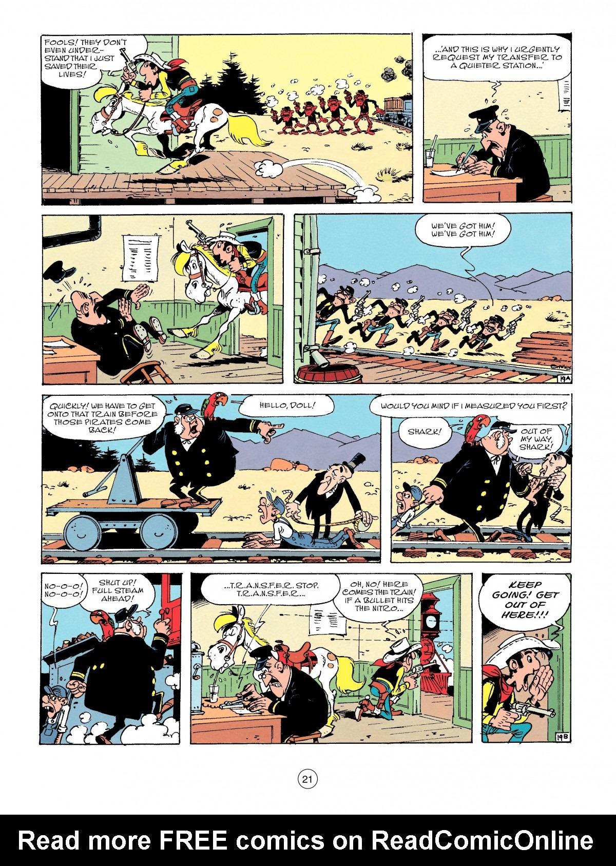 Read online A Lucky Luke Adventure comic -  Issue #53 - 21