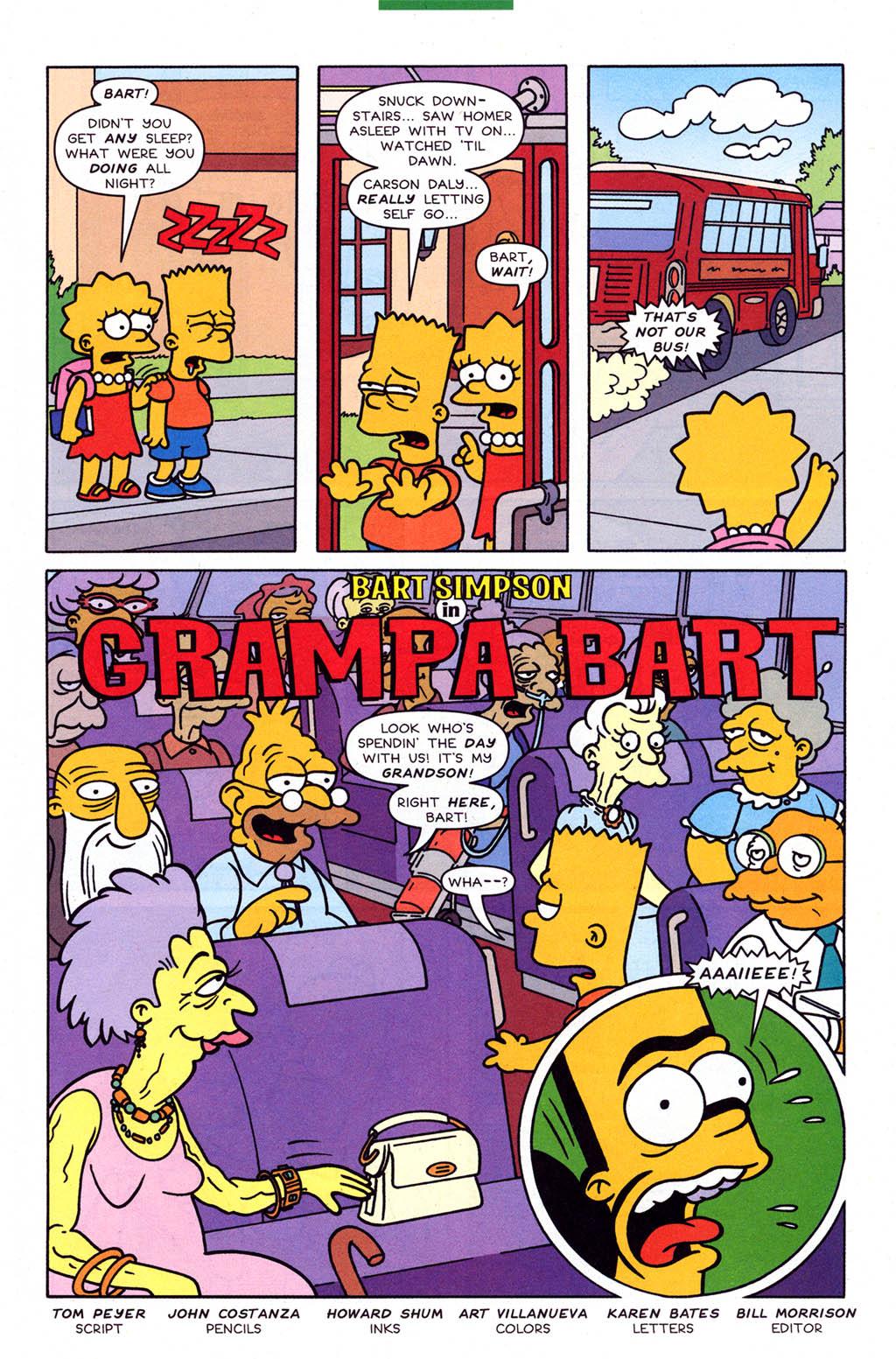 Read online Simpsons Comics Presents Bart Simpson comic -  Issue #23 - 25