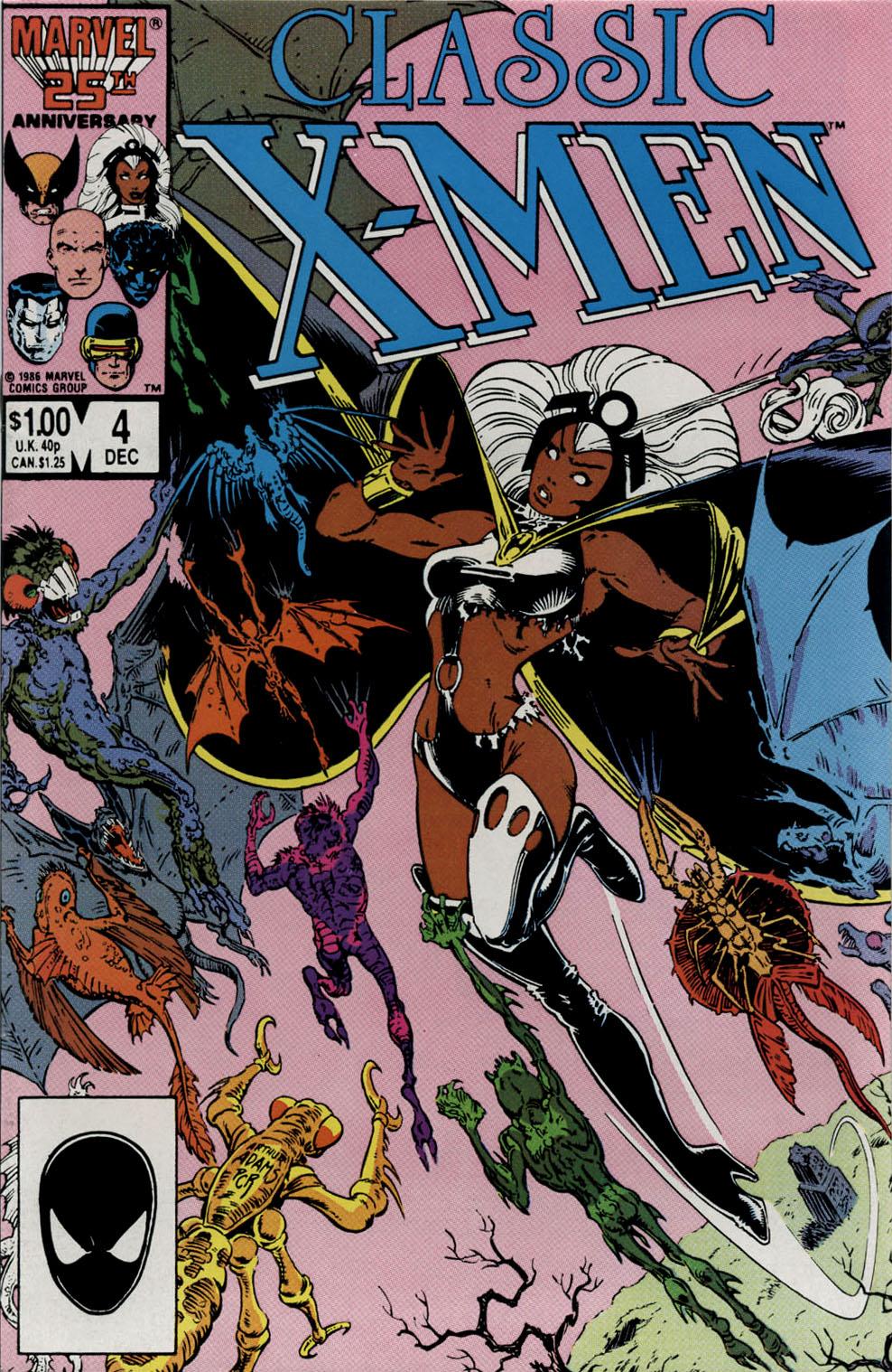 Classic X-Men 4 Page 1