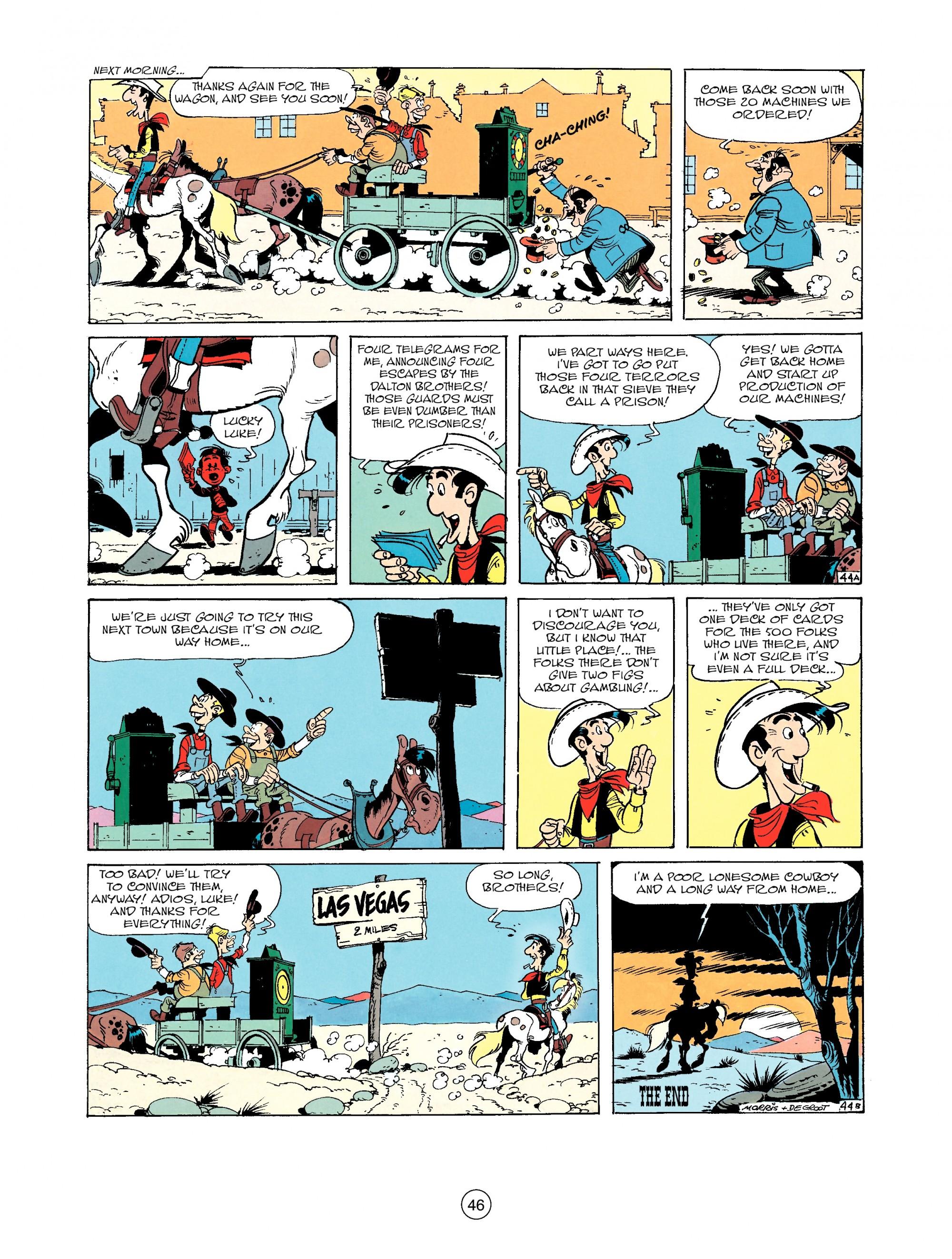 Read online A Lucky Luke Adventure comic -  Issue #33 - 46