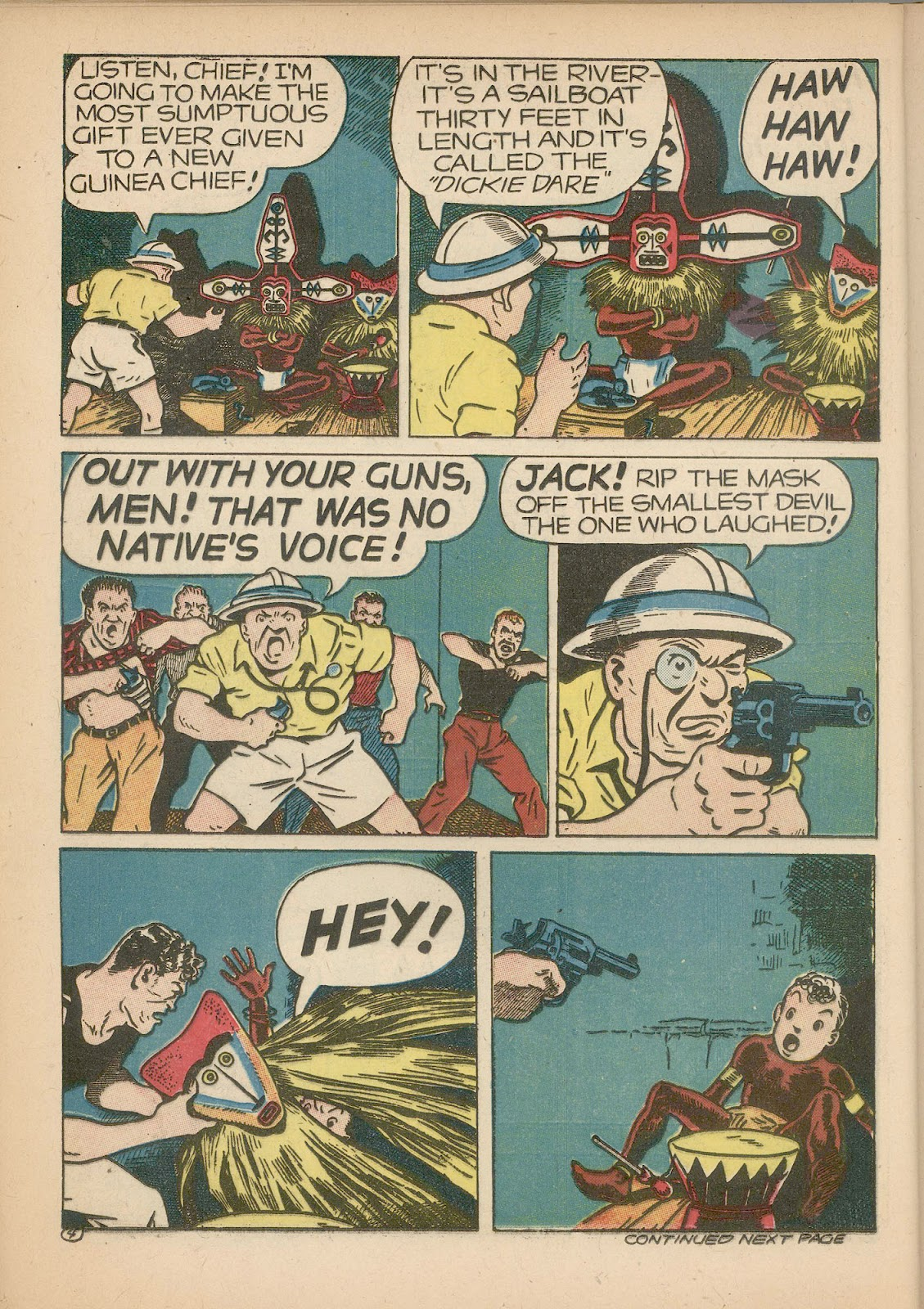 Read online Famous Funnies comic -  Issue #98 - 22