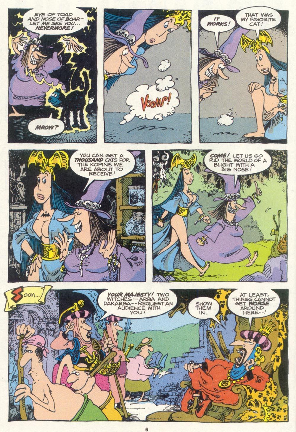 Read online Sergio Aragonés Groo the Wanderer comic -  Issue #85 - 5