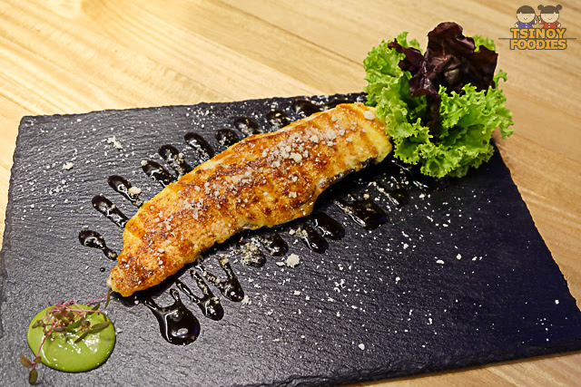 salmon cheese aburi