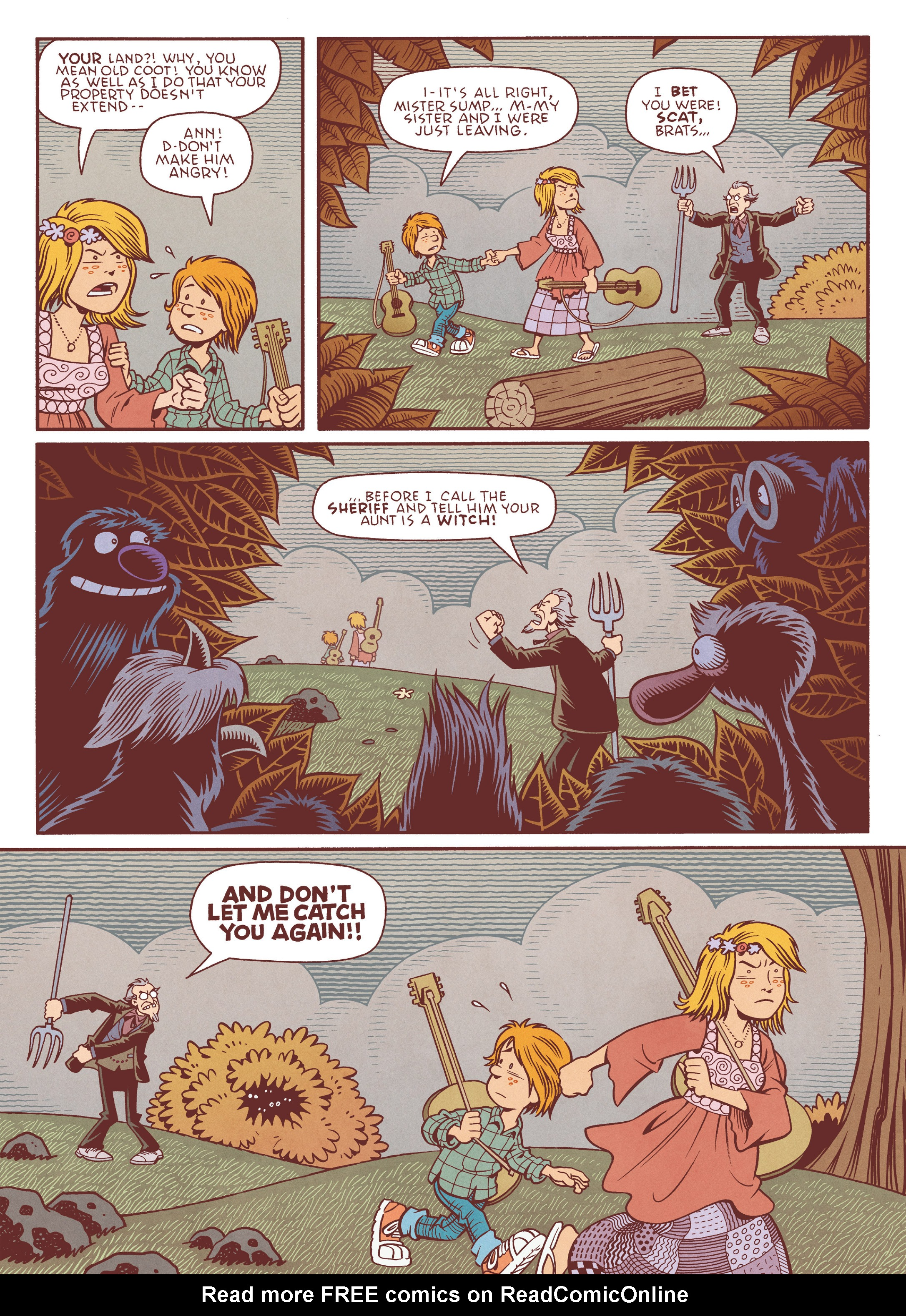 Read online Jim Henson's The Musical Monsters of Turkey Hollow comic -  Issue # Full - 18