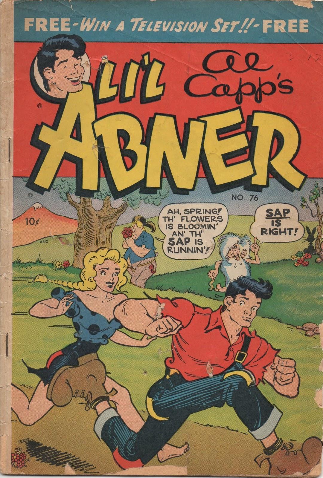Li'l Abner Comics issue 76 - Page 1