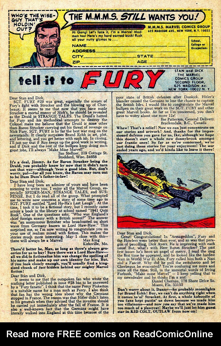 Read online Sgt. Fury comic -  Issue #33 - 32