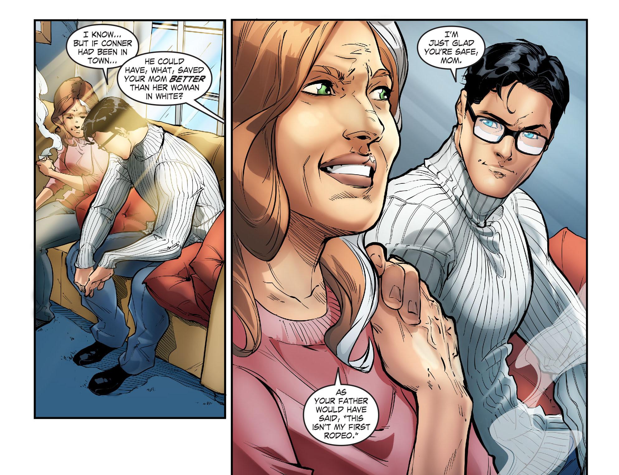Read online Smallville: Season 11 comic -  Issue #57 - 12
