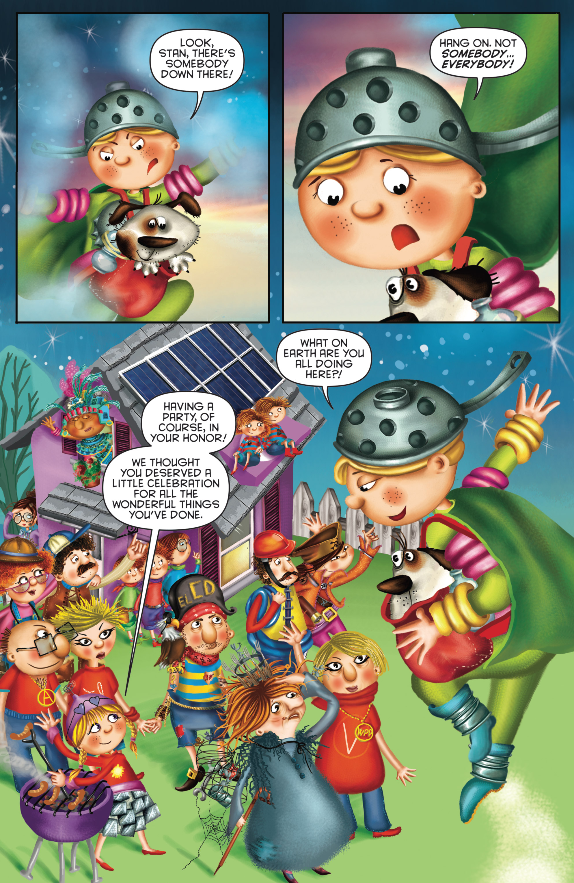Read online Michael Recycle comic -  Issue #4 - 22