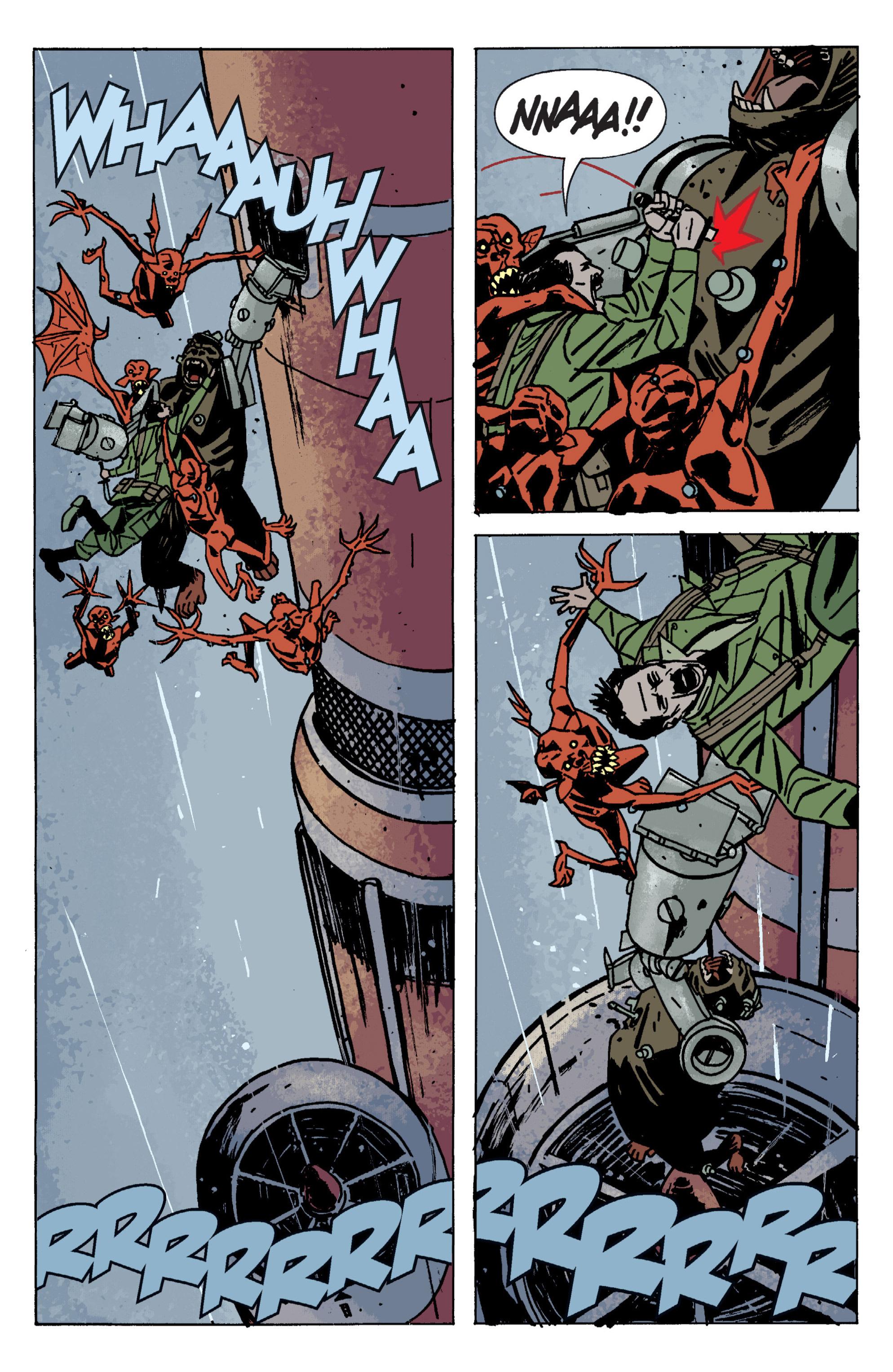 Read online B.P.R.D. (2003) comic -  Issue # TPB 9 - 131