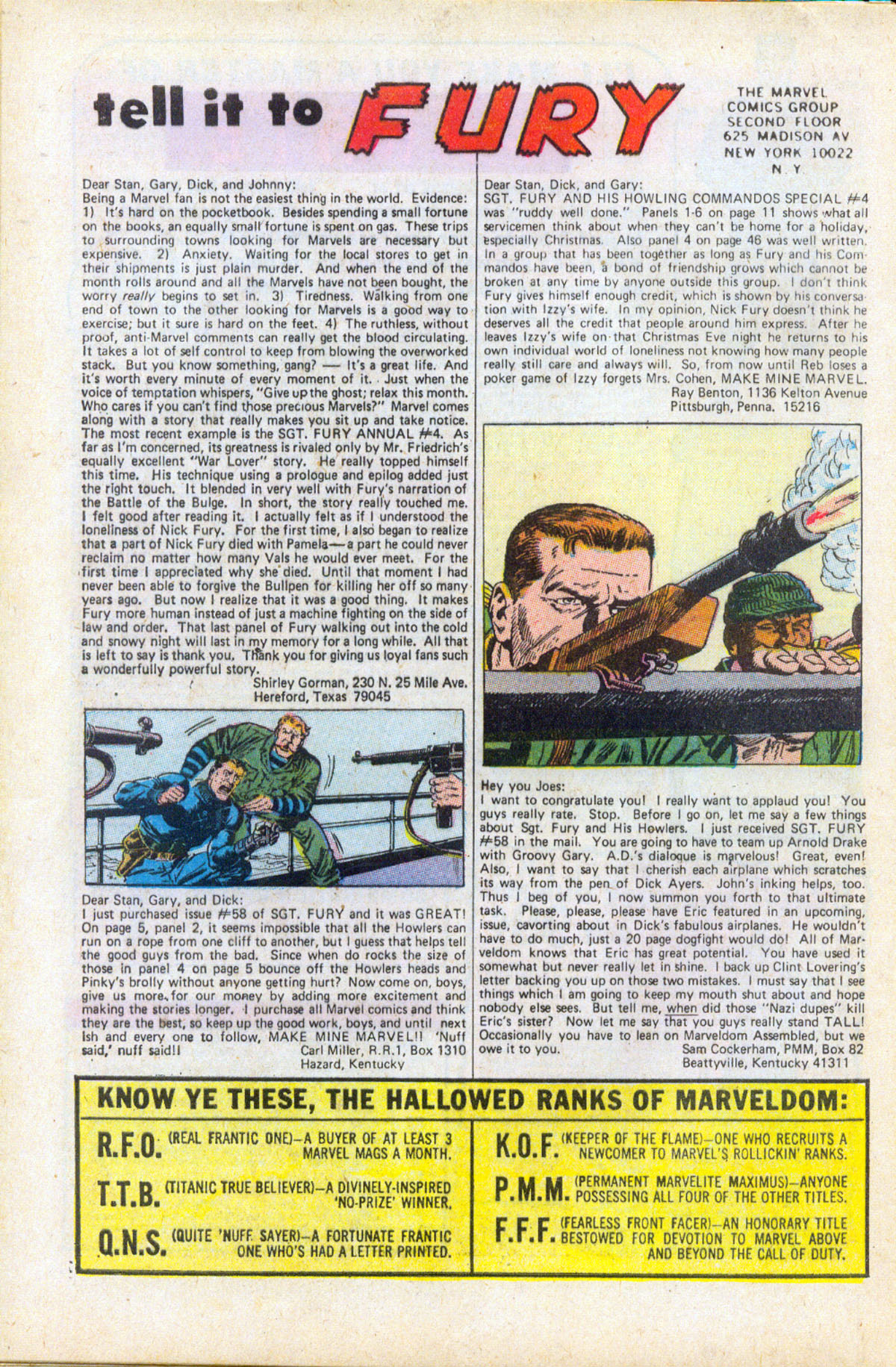 Read online Sgt. Fury comic -  Issue #61 - 32
