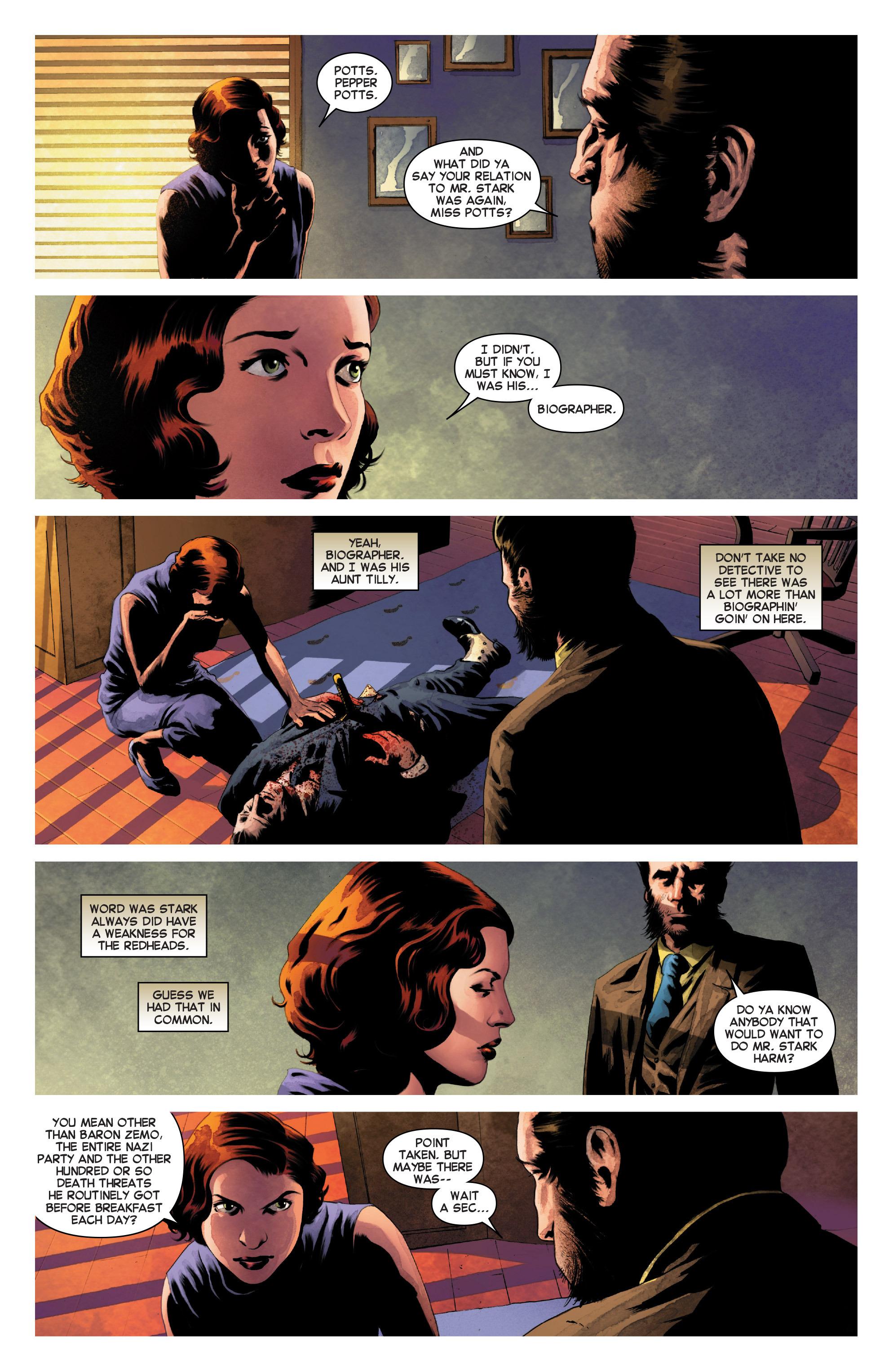 Read online Secret Wars Journal comic -  Issue #3 - 5