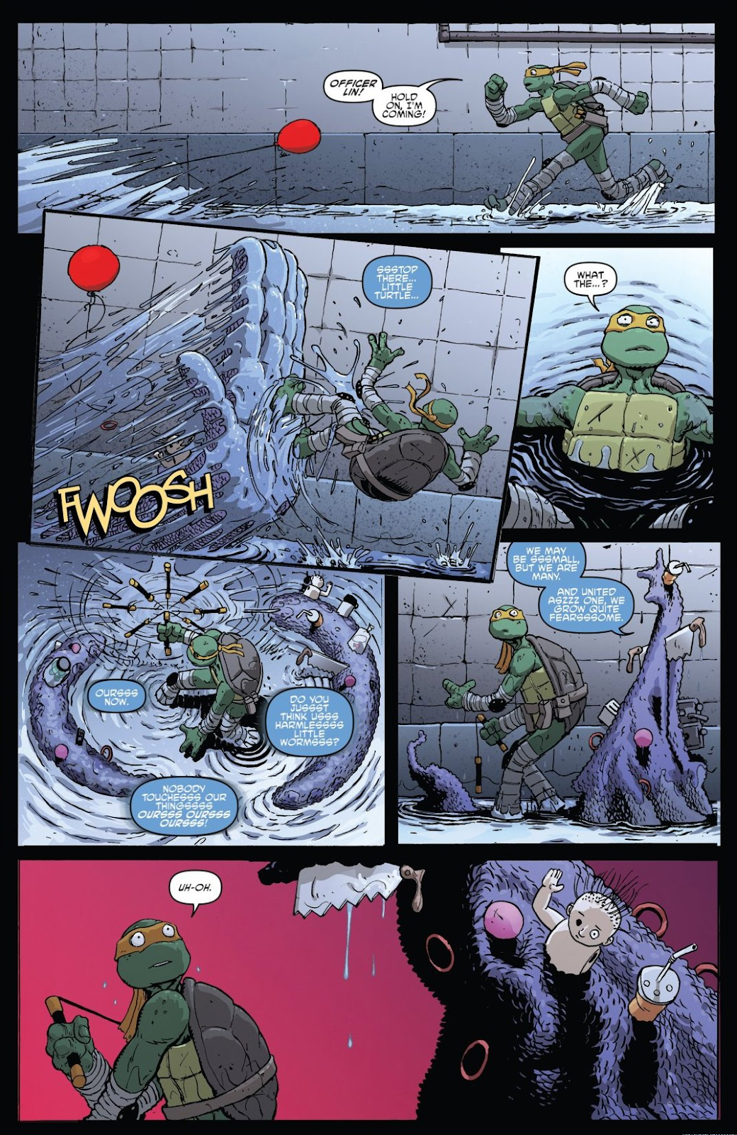 Read online Teenage Mutant Ninja Turtles: The IDW Collection comic -  Issue # TPB 8 (Part 3) - 75