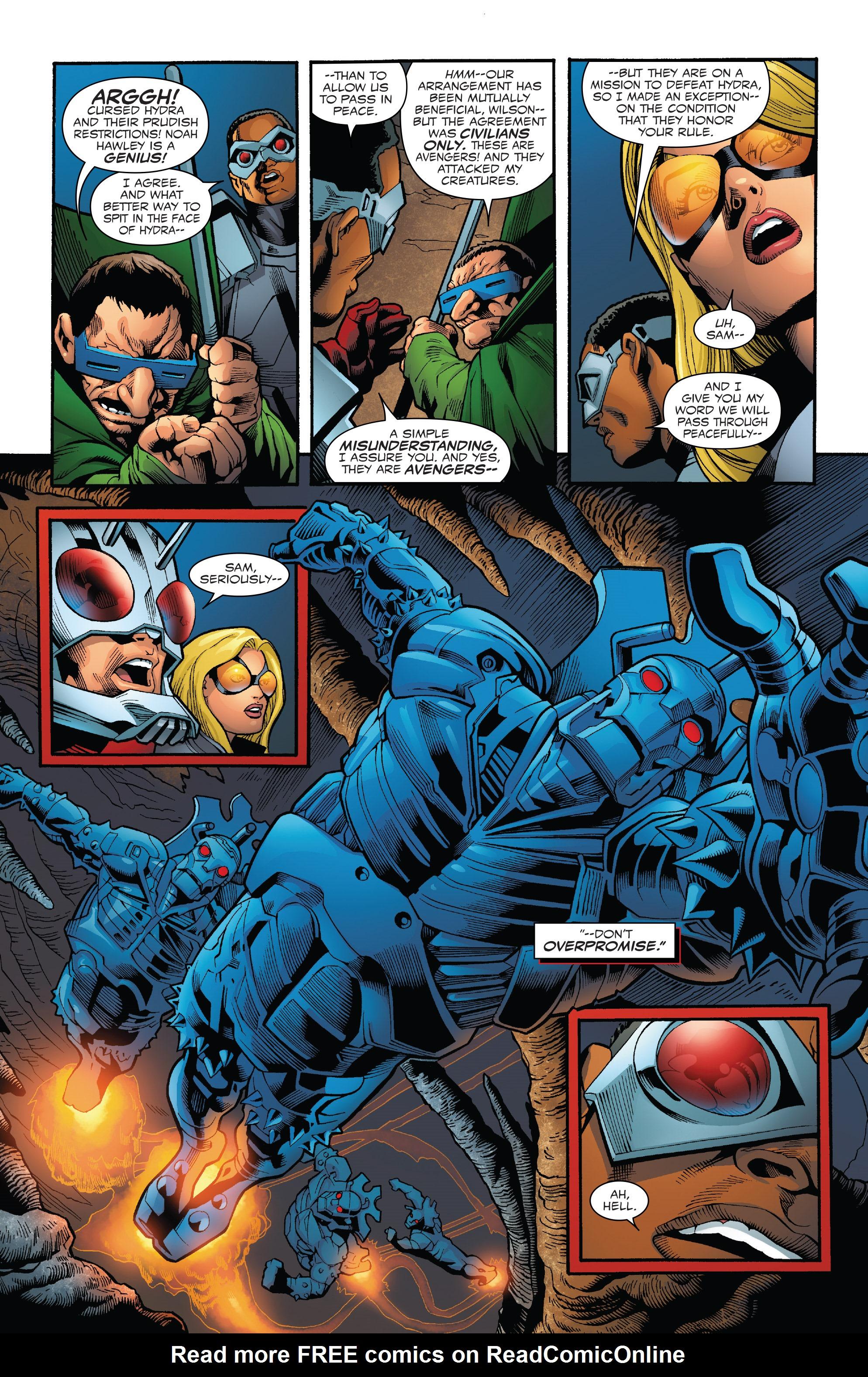 Read online Captain America: Sam Wilson comic -  Issue #23 - 15