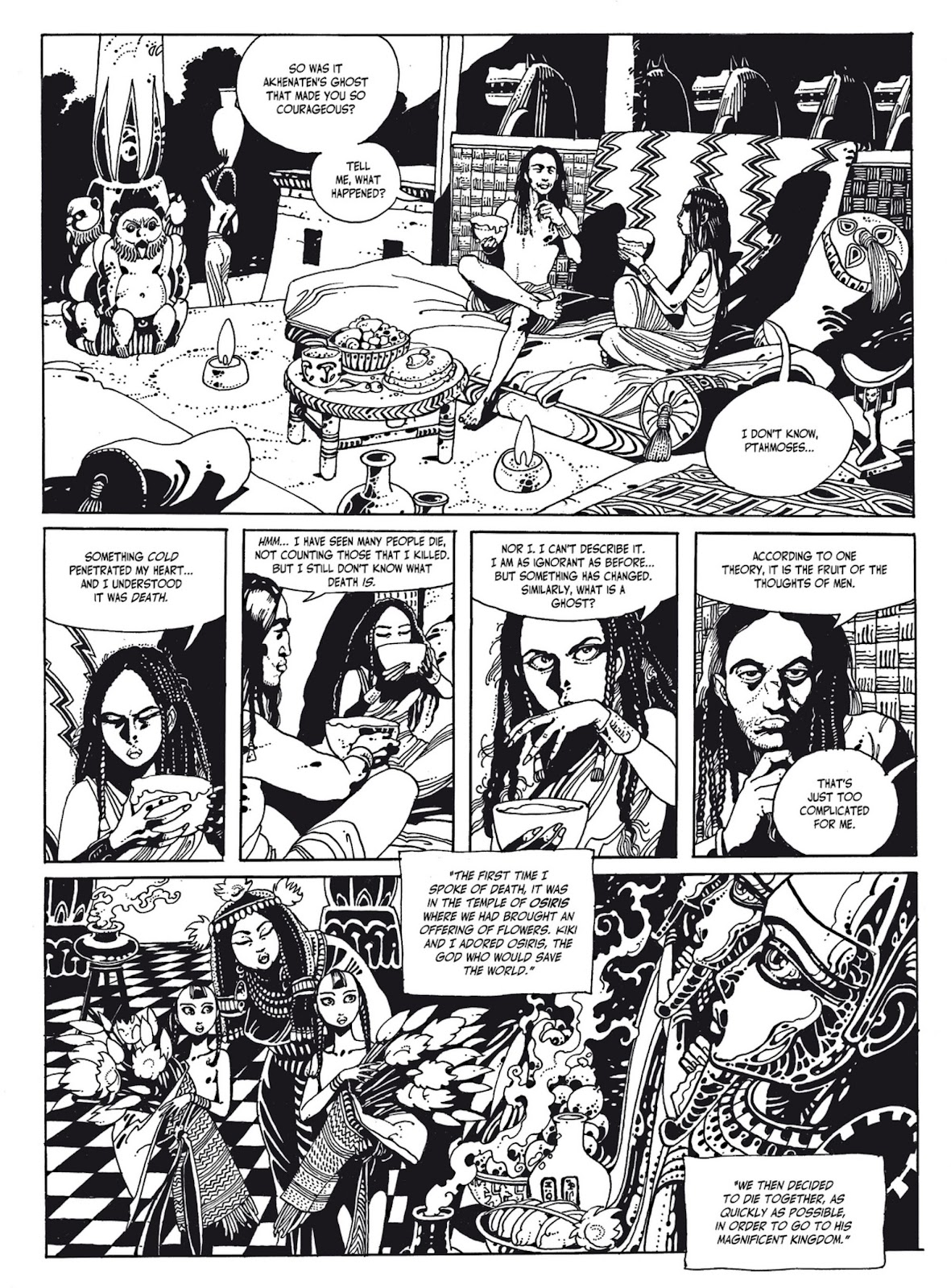 Read online The Egyptian Princesses comic -  Issue # TPB 1 (Part 2) - 4