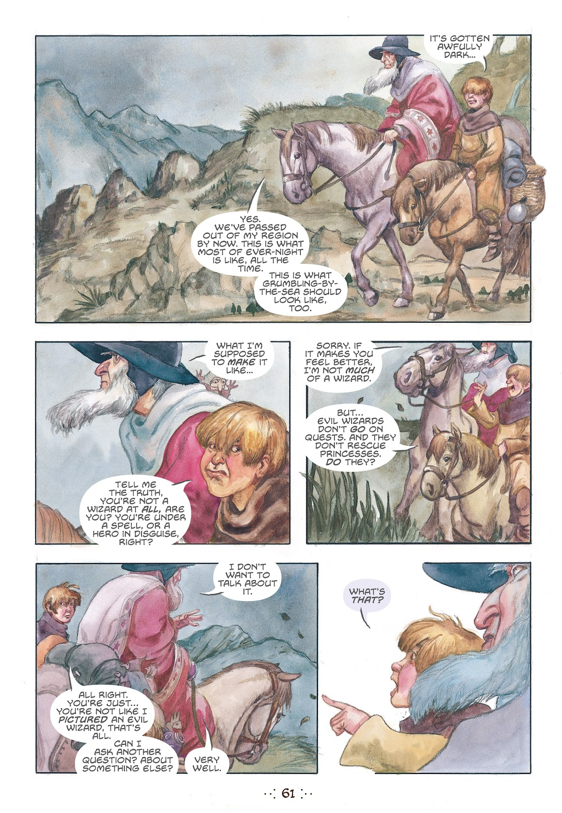 Read online The Wizard's Tale comic -  Issue # TPB - 58