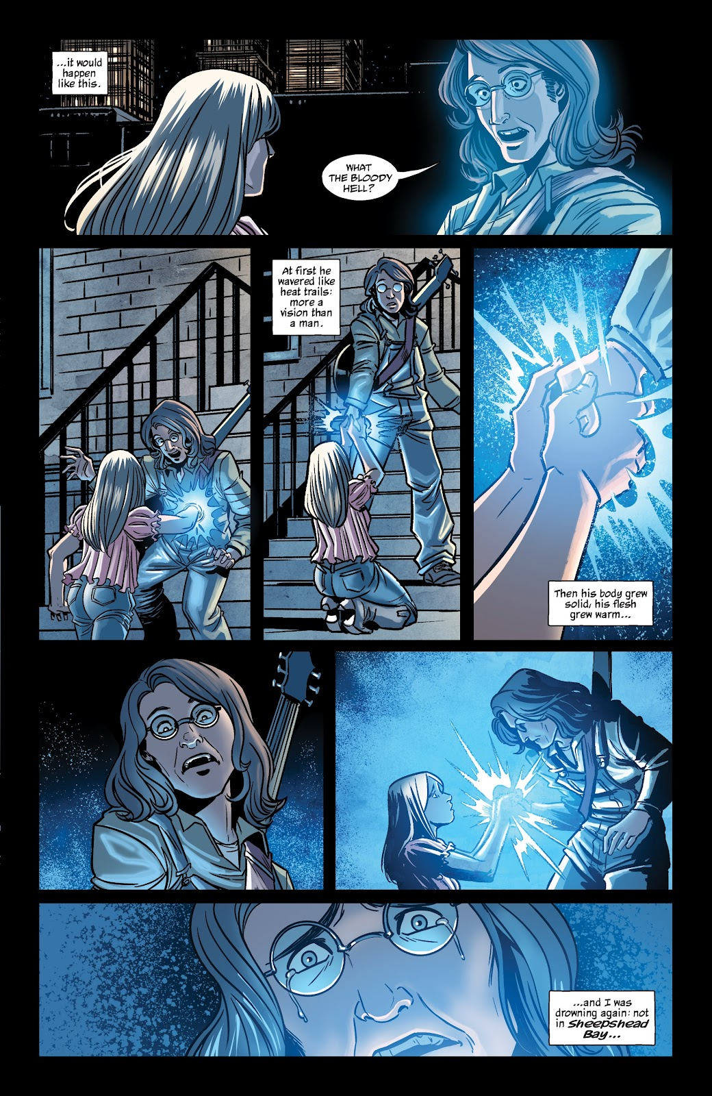 Read online The Girl In The Bay comic -  Issue #2 - 13