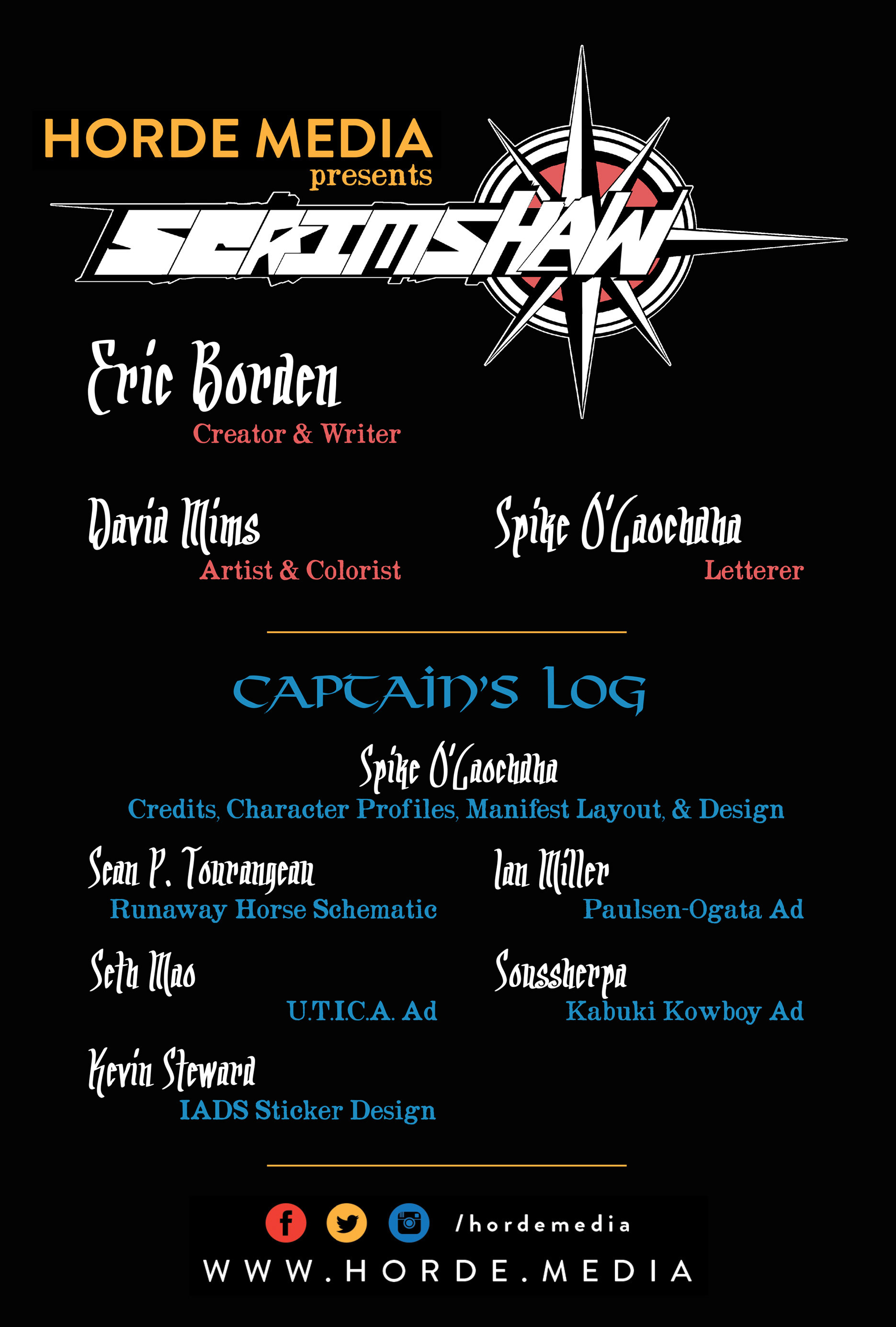 Read online Scrimshaw comic -  Issue #1 - 2