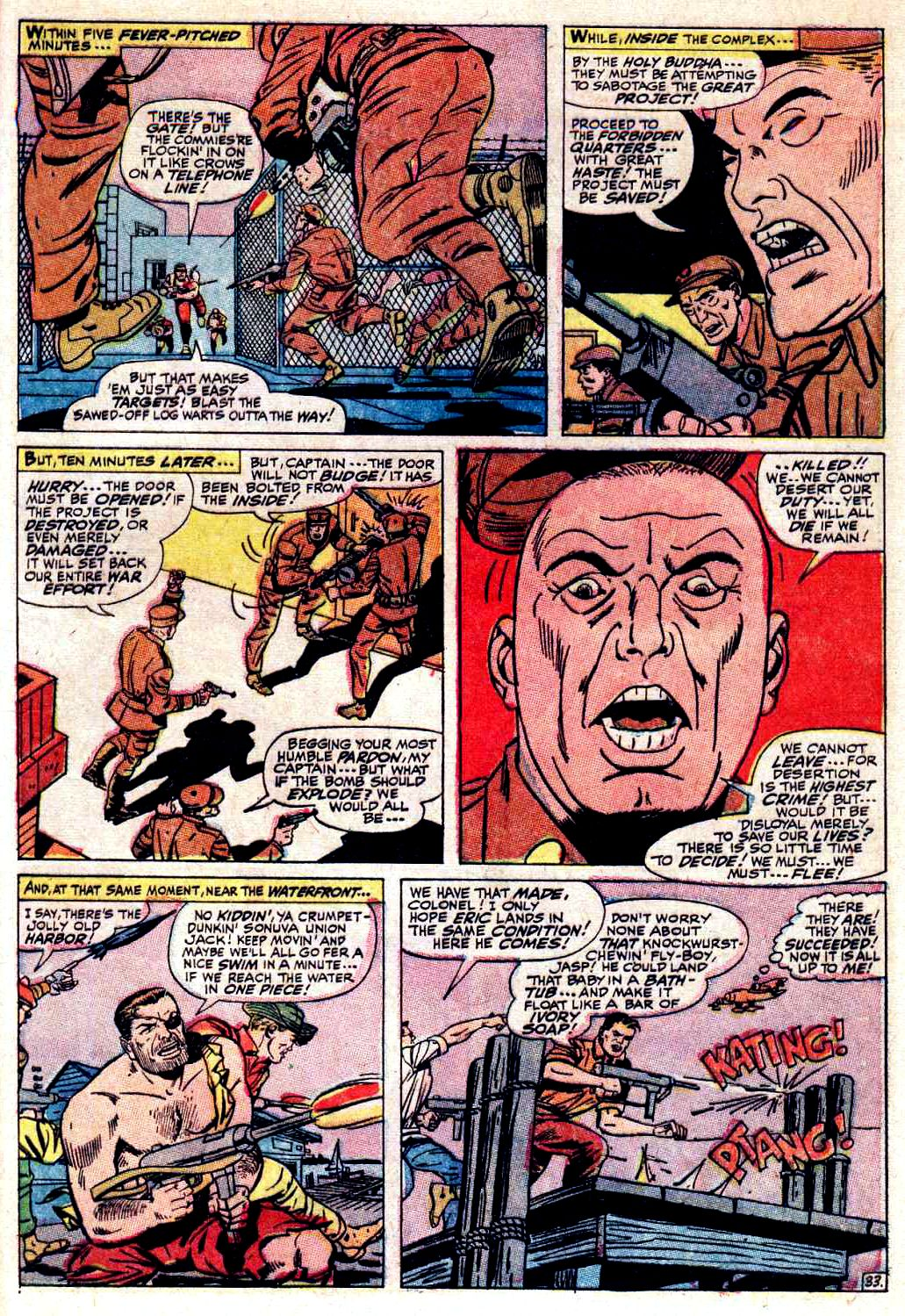 Read online Sgt. Fury comic -  Issue # _Special 3 - 37