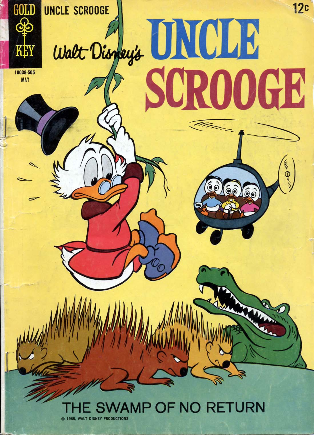 Read online Uncle Scrooge (1953) comic -  Issue #57 - 1
