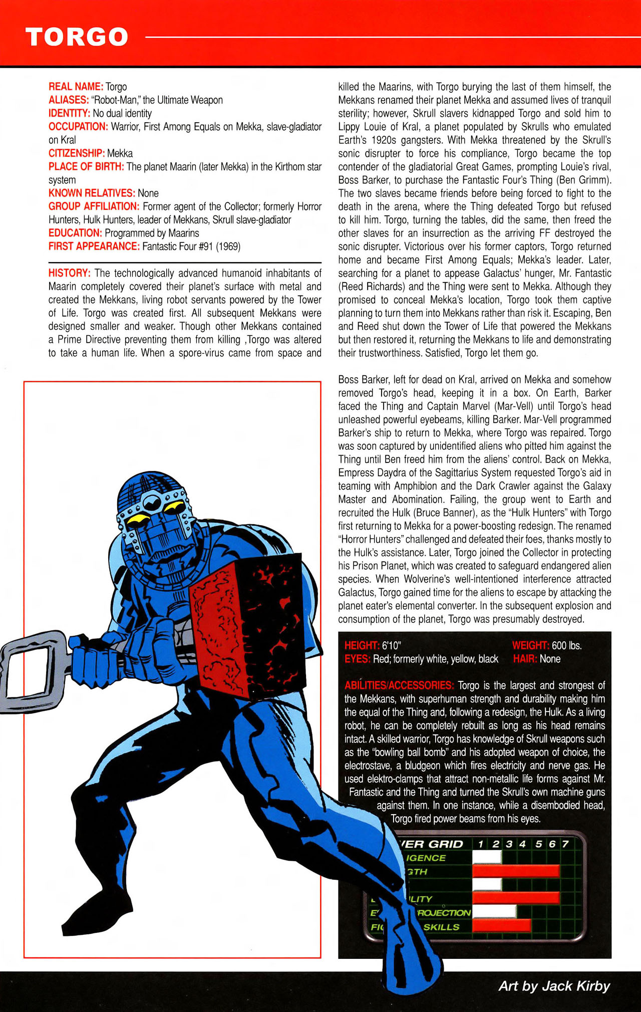 Read online All-New Official Handbook of the Marvel Universe A to Z comic -  Issue #11 - 54