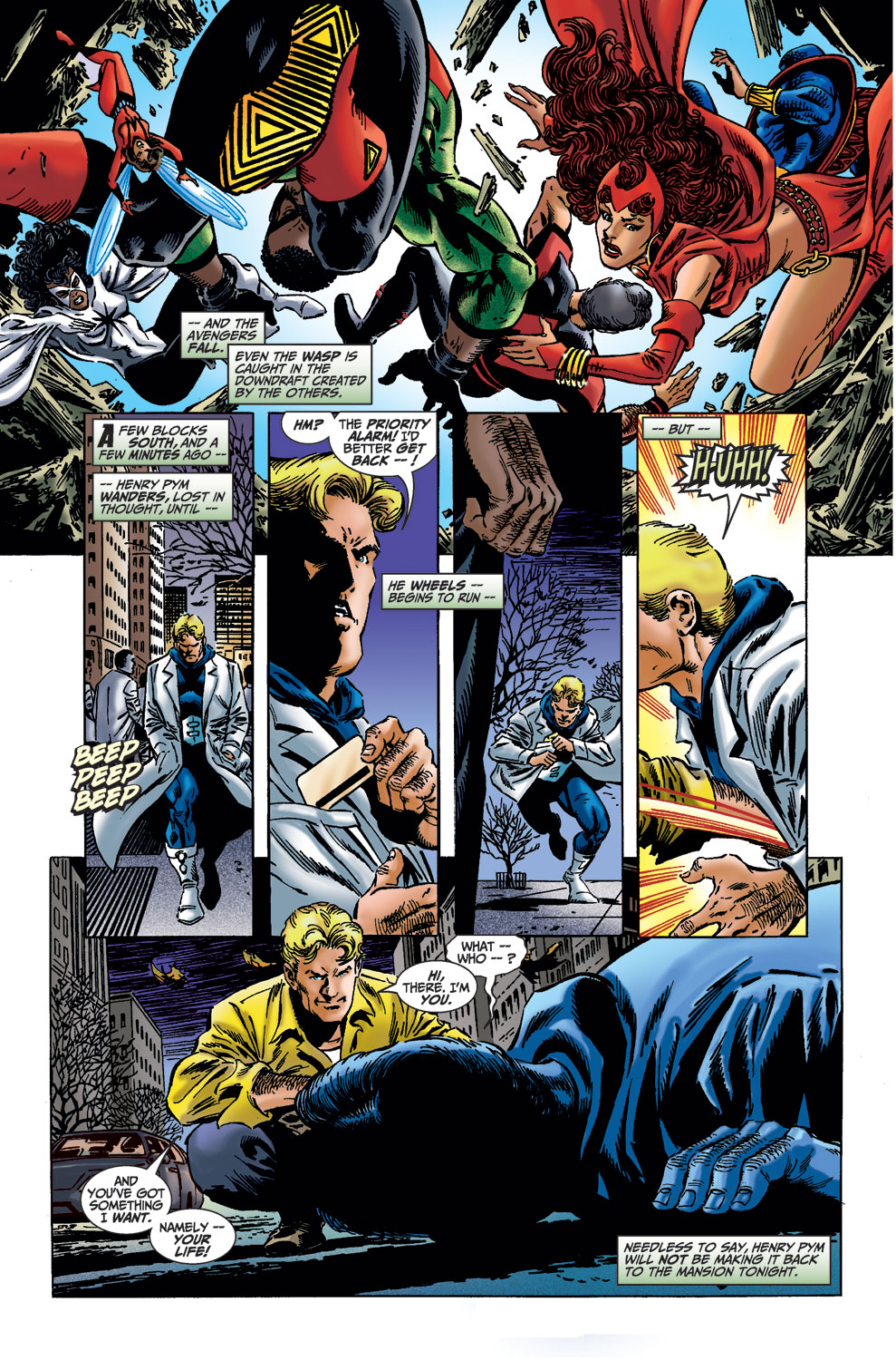Read online Avengers (1998) comic -  Issue #36 - 16