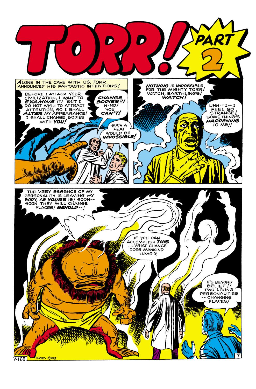 Read online Amazing Adventures (1961) comic -  Issue #1 - 9