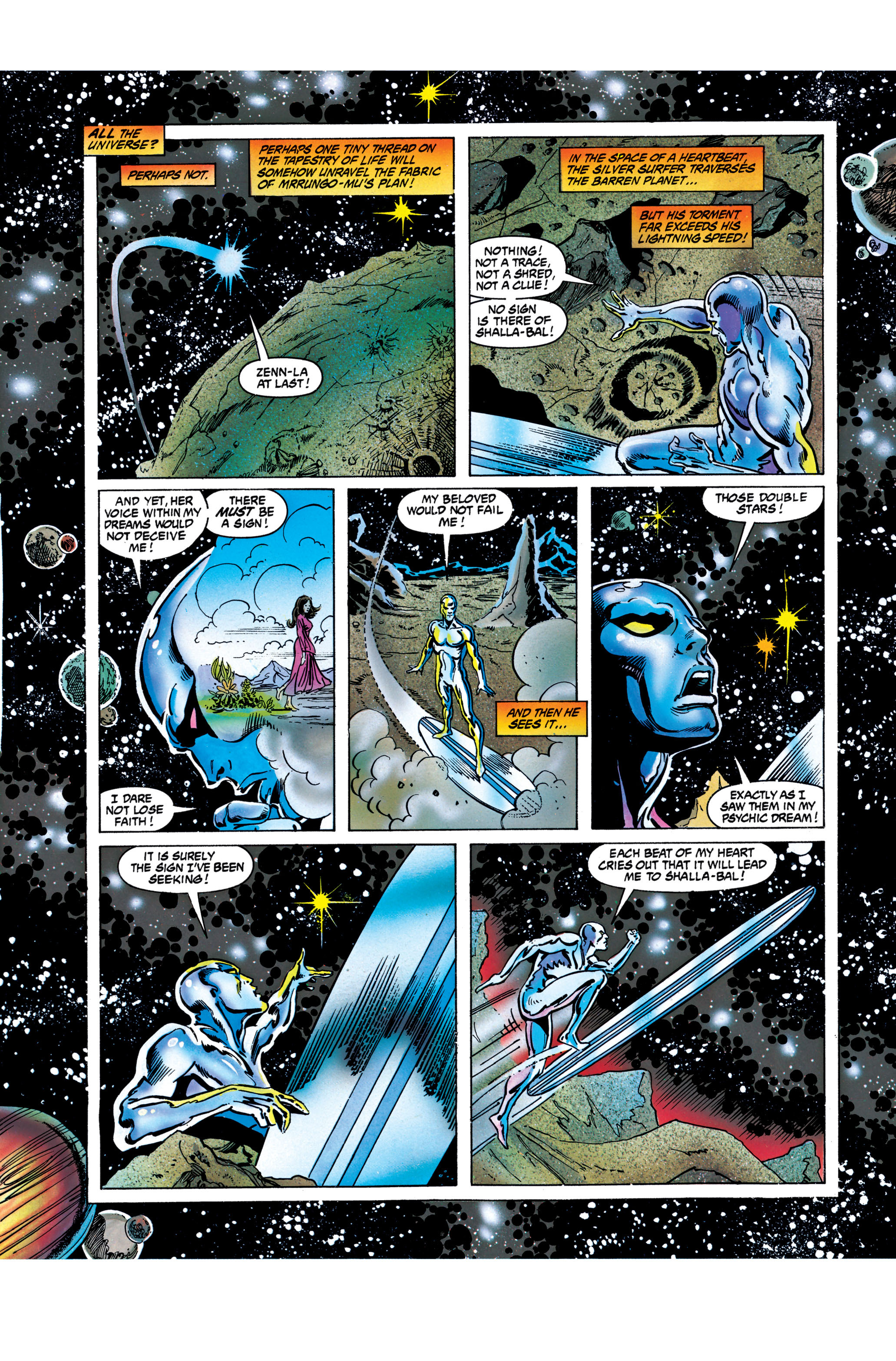 Read online Silver Surfer: Parable comic -  Issue # TPB - 84