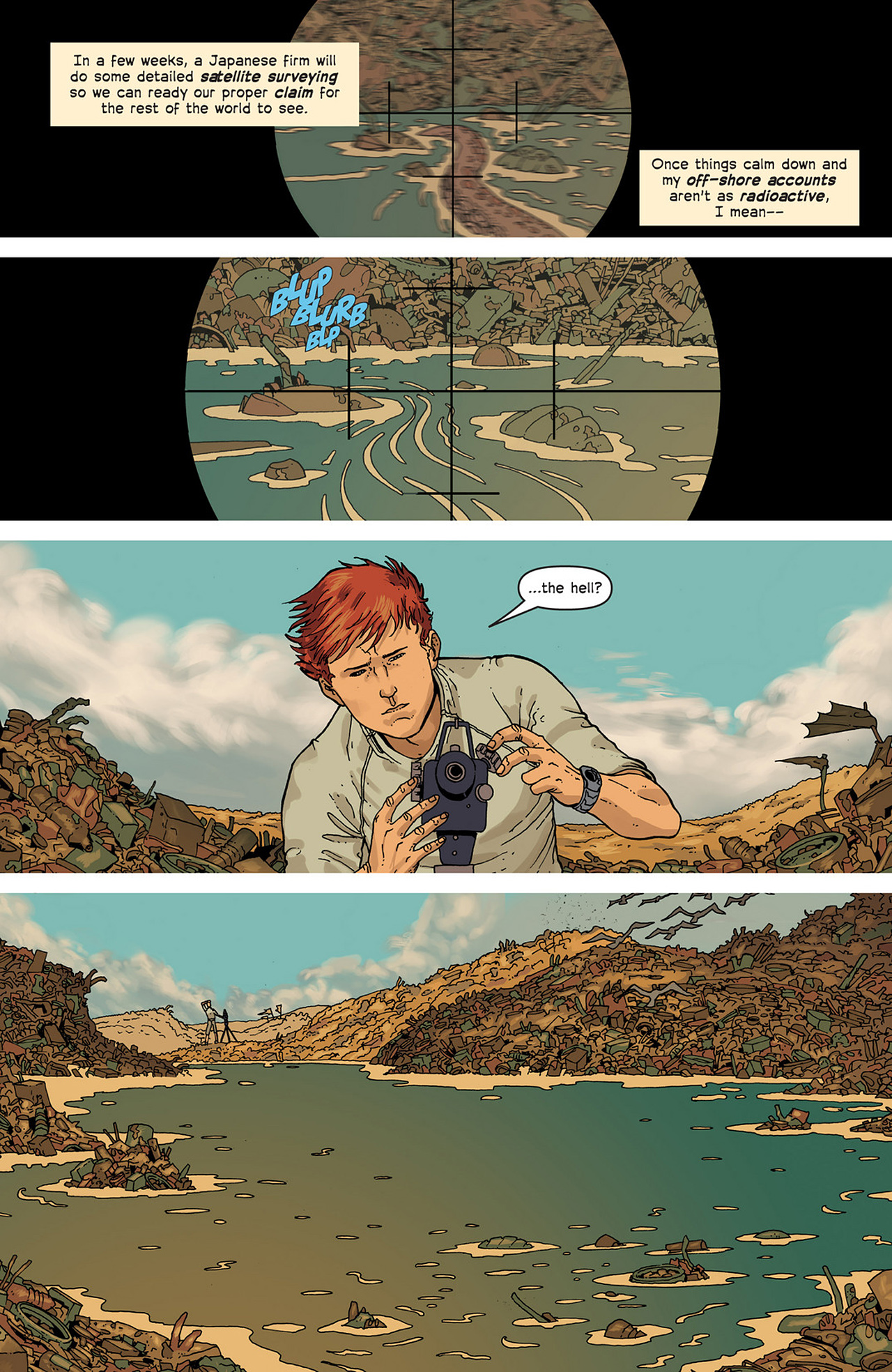Read online Great Pacific comic -  Issue #2 - 6