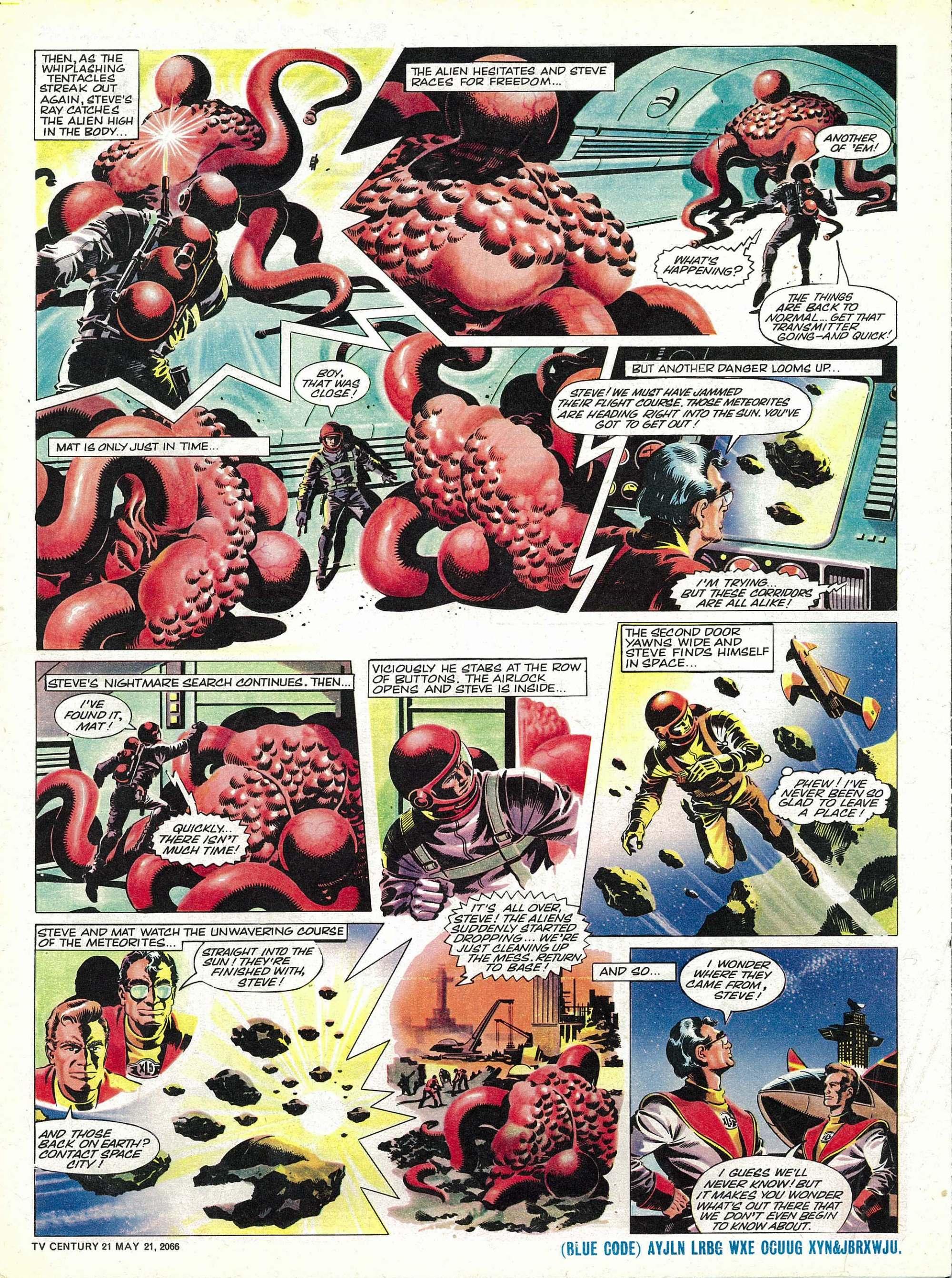 Read online TV Century 21 (TV 21) comic -  Issue #70 - 16