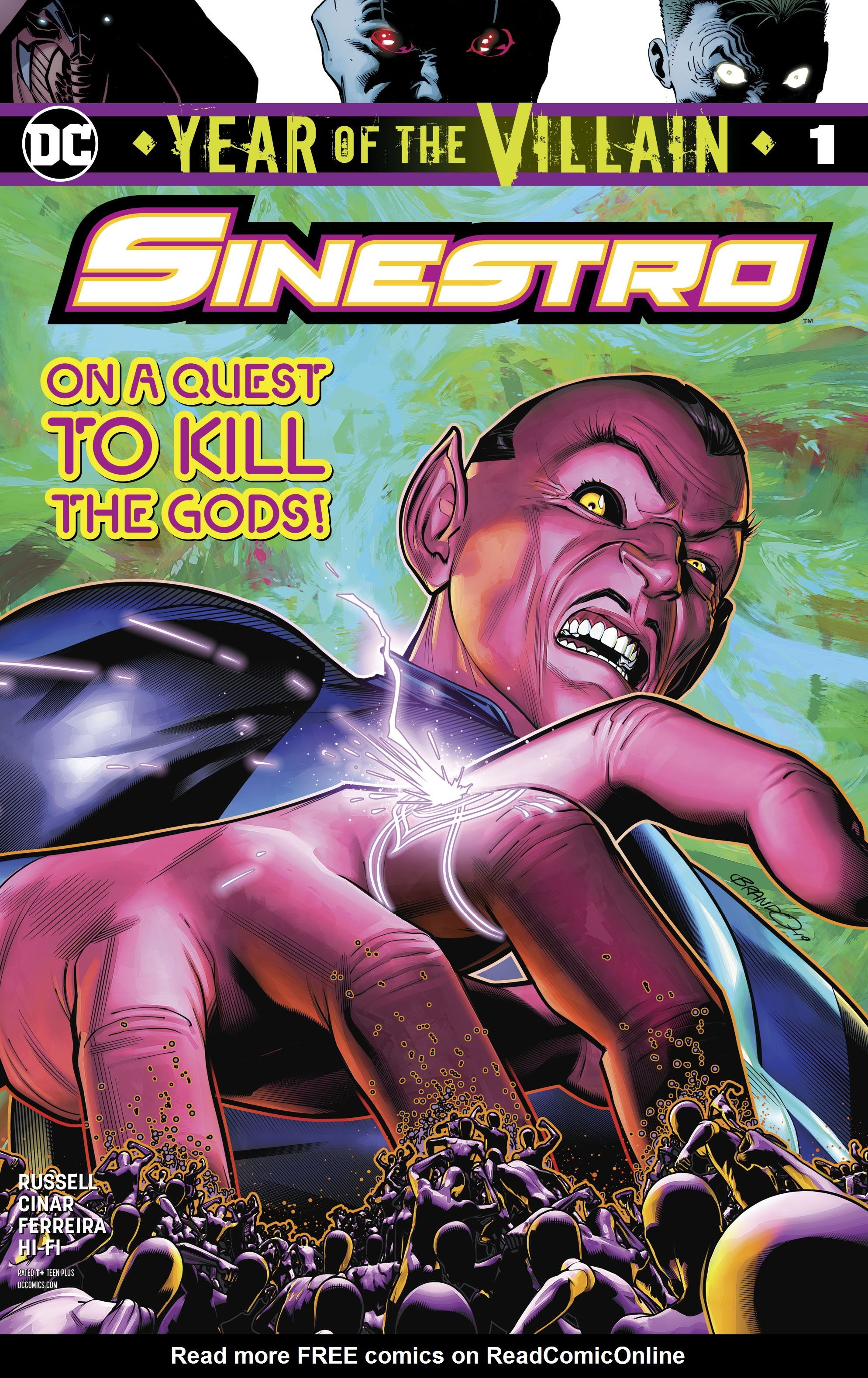 Sinestro: Year of the Villain Full Page 1