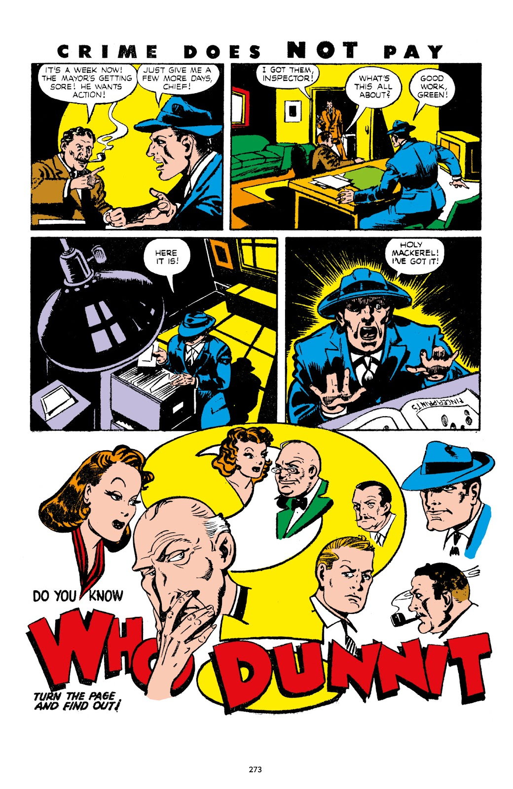 Read online Crime Does Not Pay Archives comic -  Issue # TPB 7 (Part 3) - 74