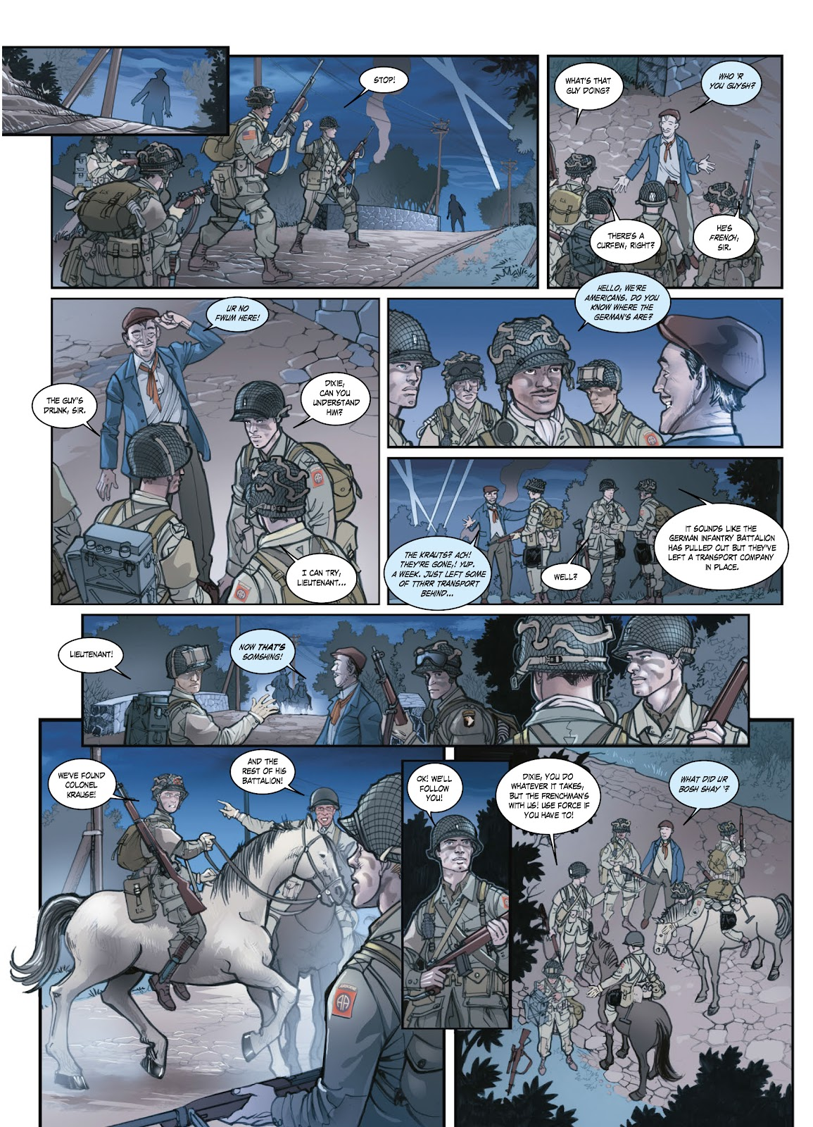 Read online Opération Overlord comic -  Issue #1 - 24