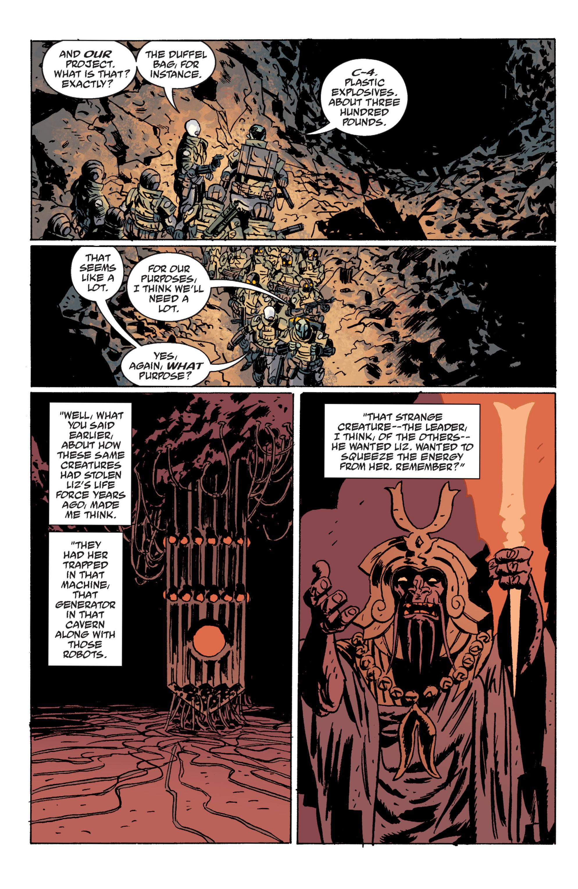Read online B.P.R.D. (2003) comic -  Issue # TPB 10 - 99