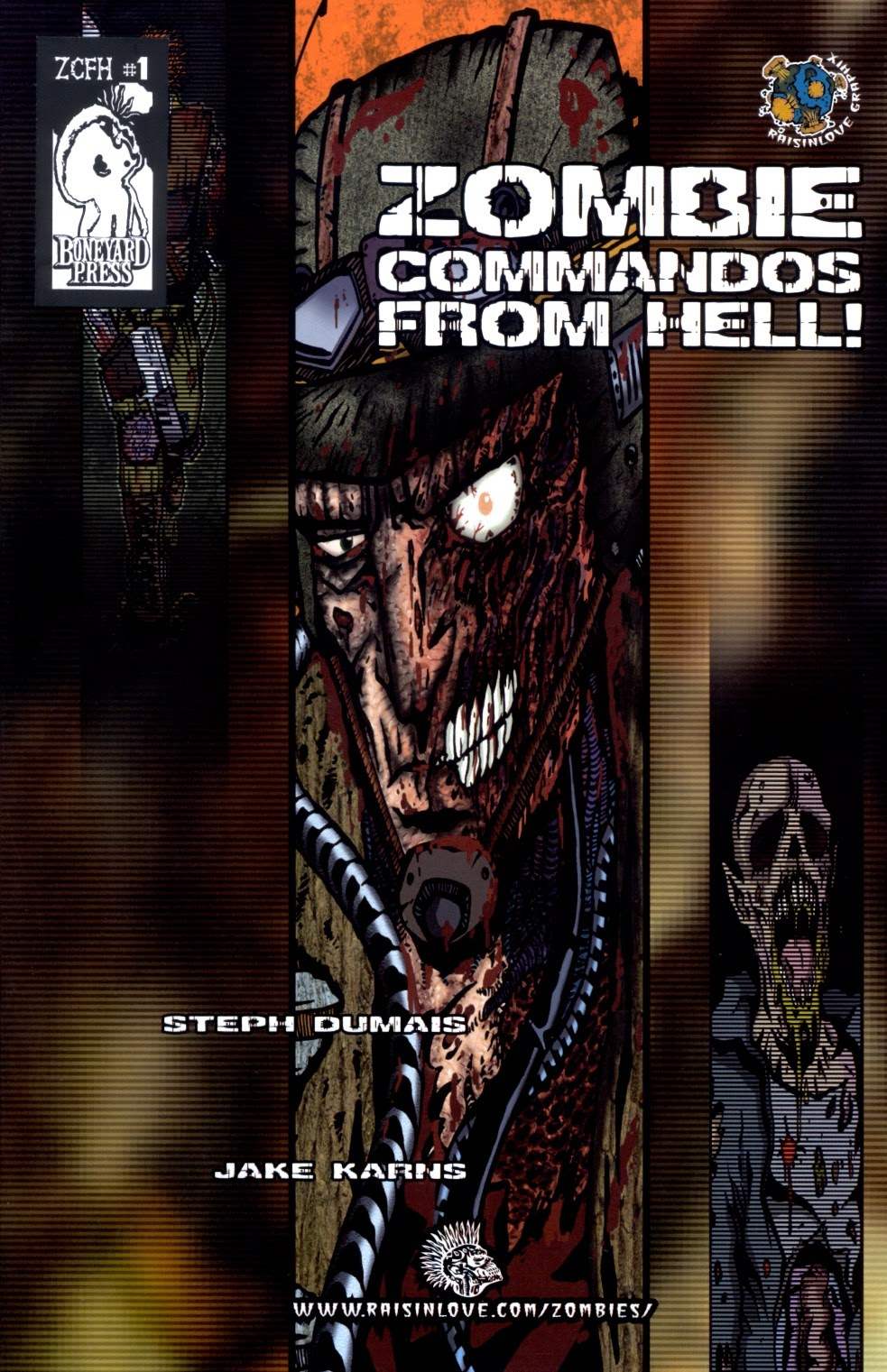 Zombie Commandos from Hell 1 Page 1