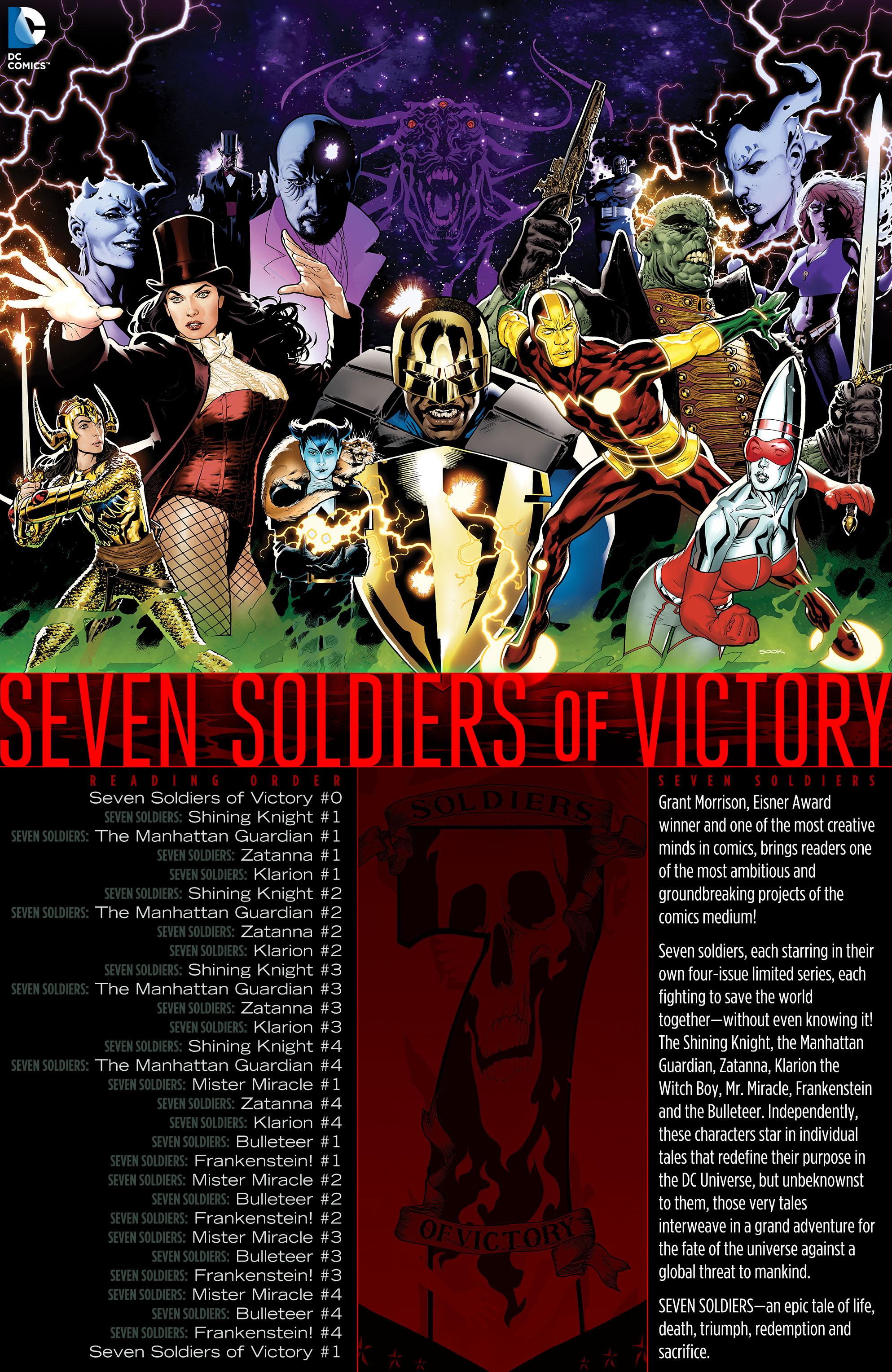 Read online Seven Soldiers: Zatanna comic -  Issue #1 - 22