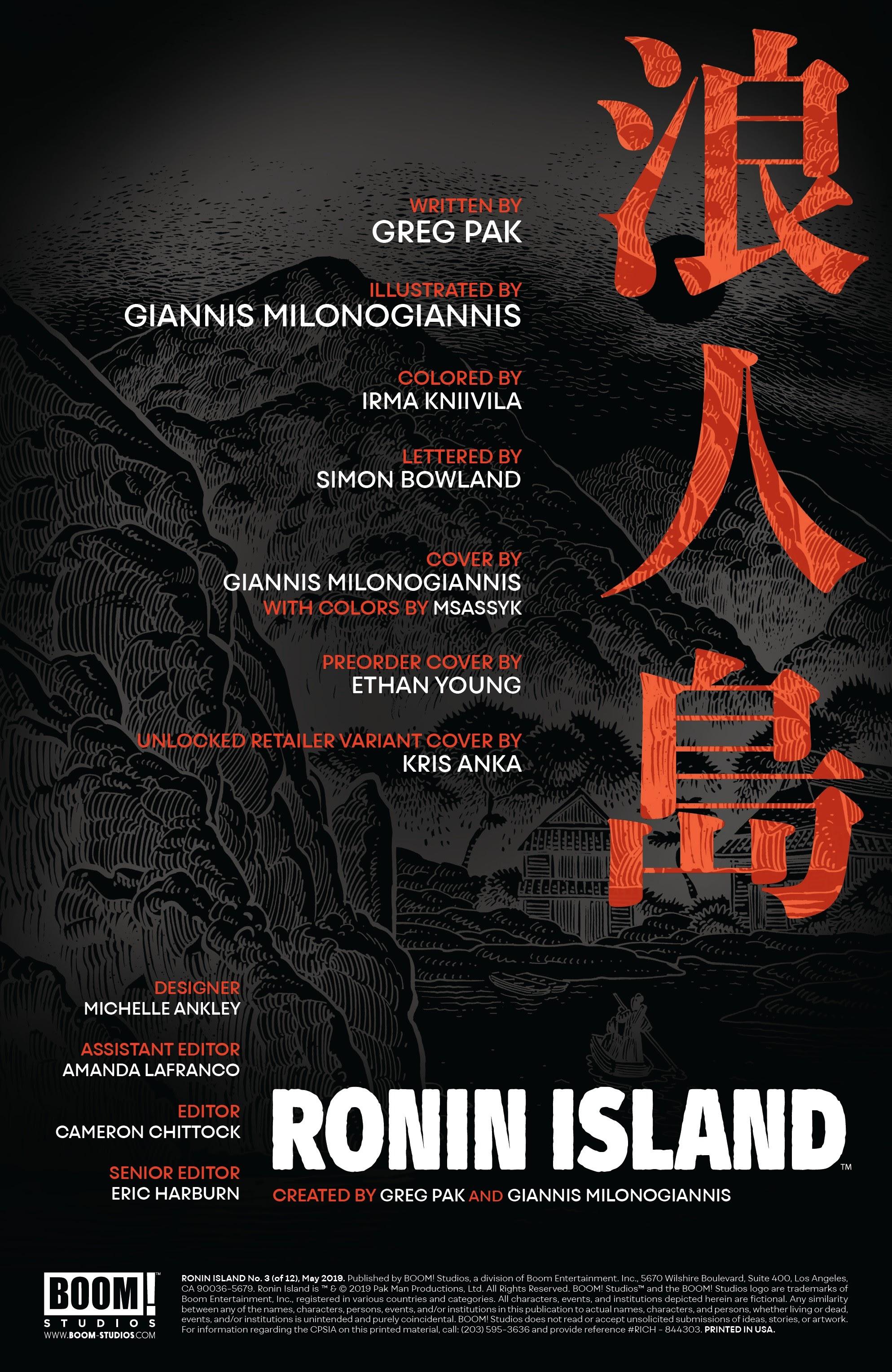 Read online Ronin Island comic -  Issue #3 - 2