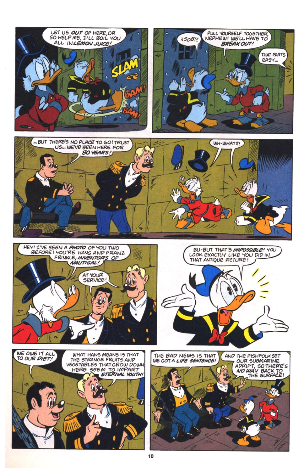 Read online Uncle Scrooge (1953) comic -  Issue #260 - 11