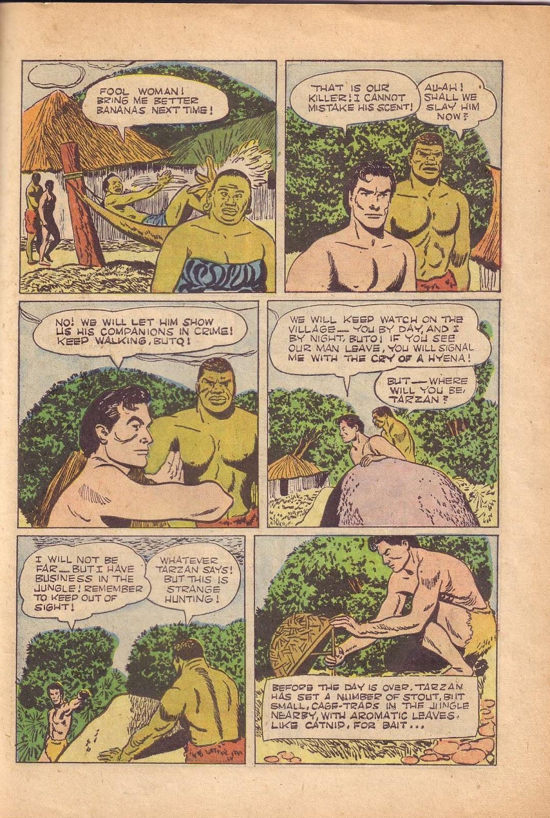 Tarzan (1948) issue 50 - Page 35