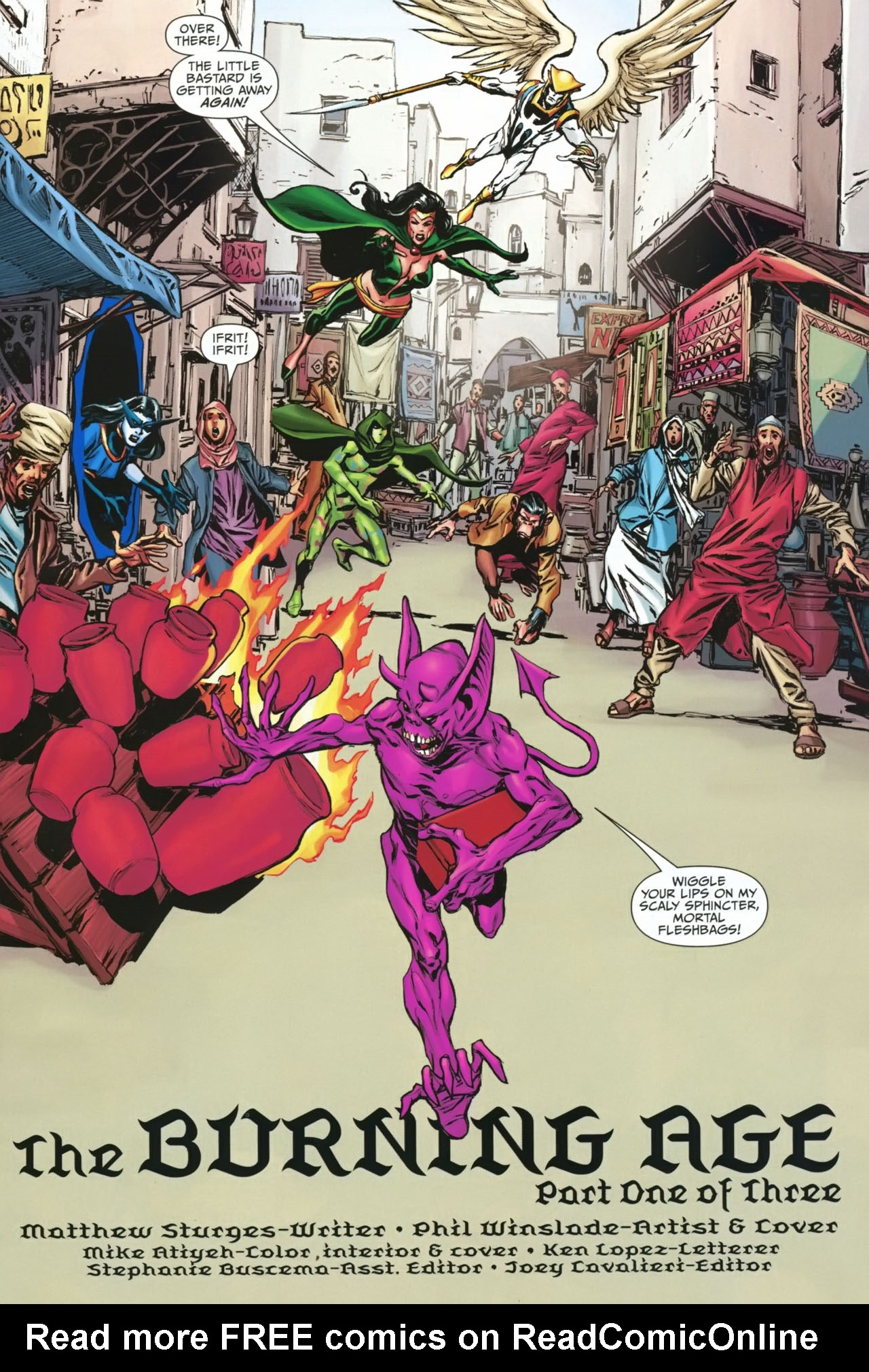 Read online Shadowpact comic -  Issue #23 - 2