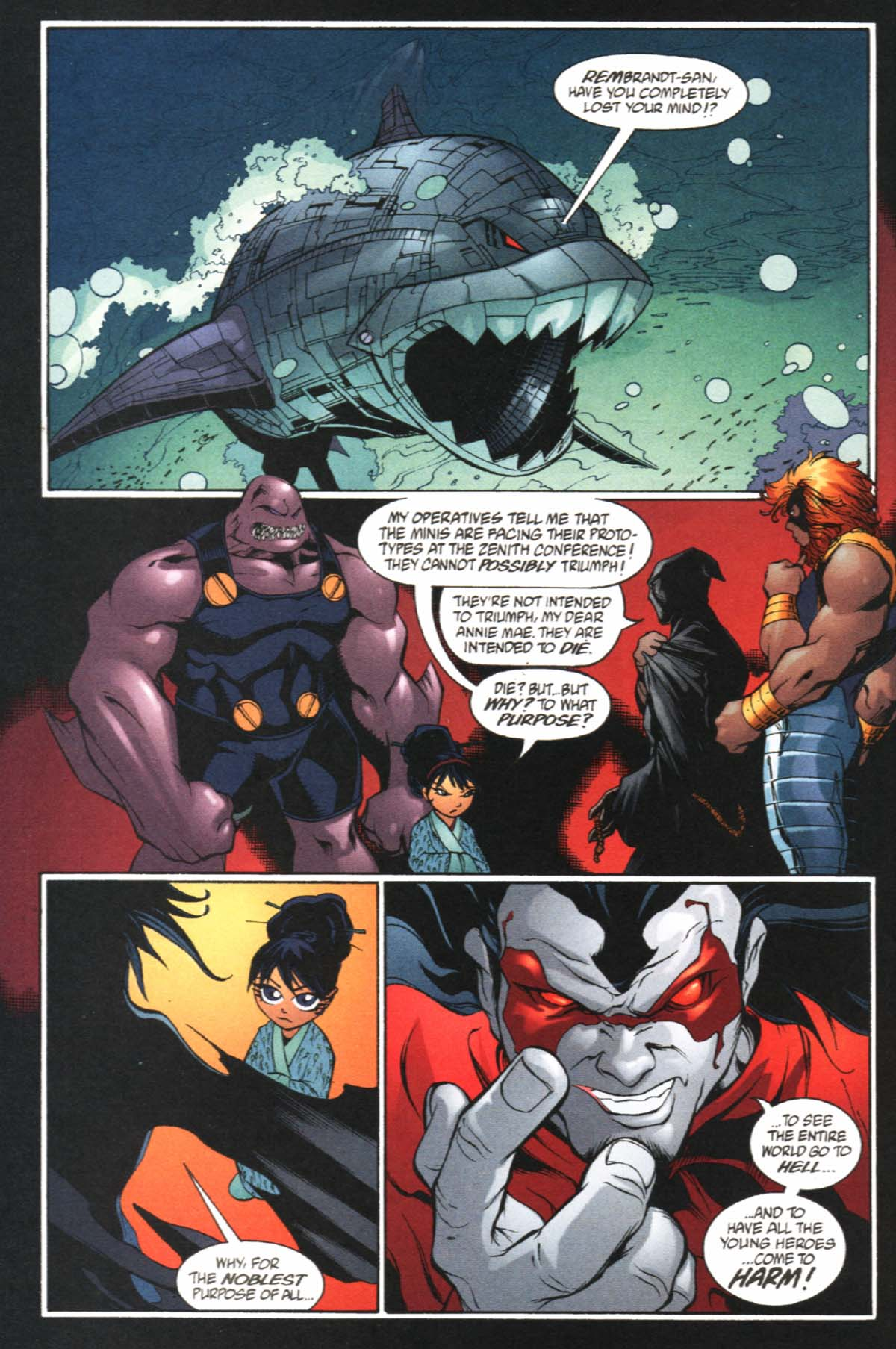 Read online SpyBoy/Young Justice comic -  Issue #2 - 25