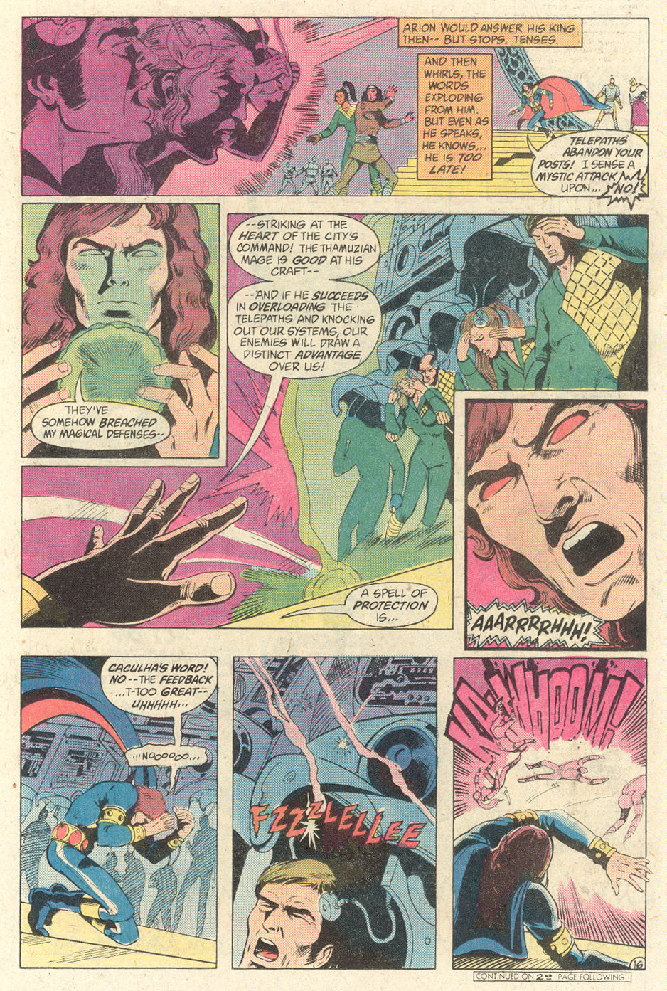 Read online Arion, Lord of Atlantis comic -  Issue #2 - 16