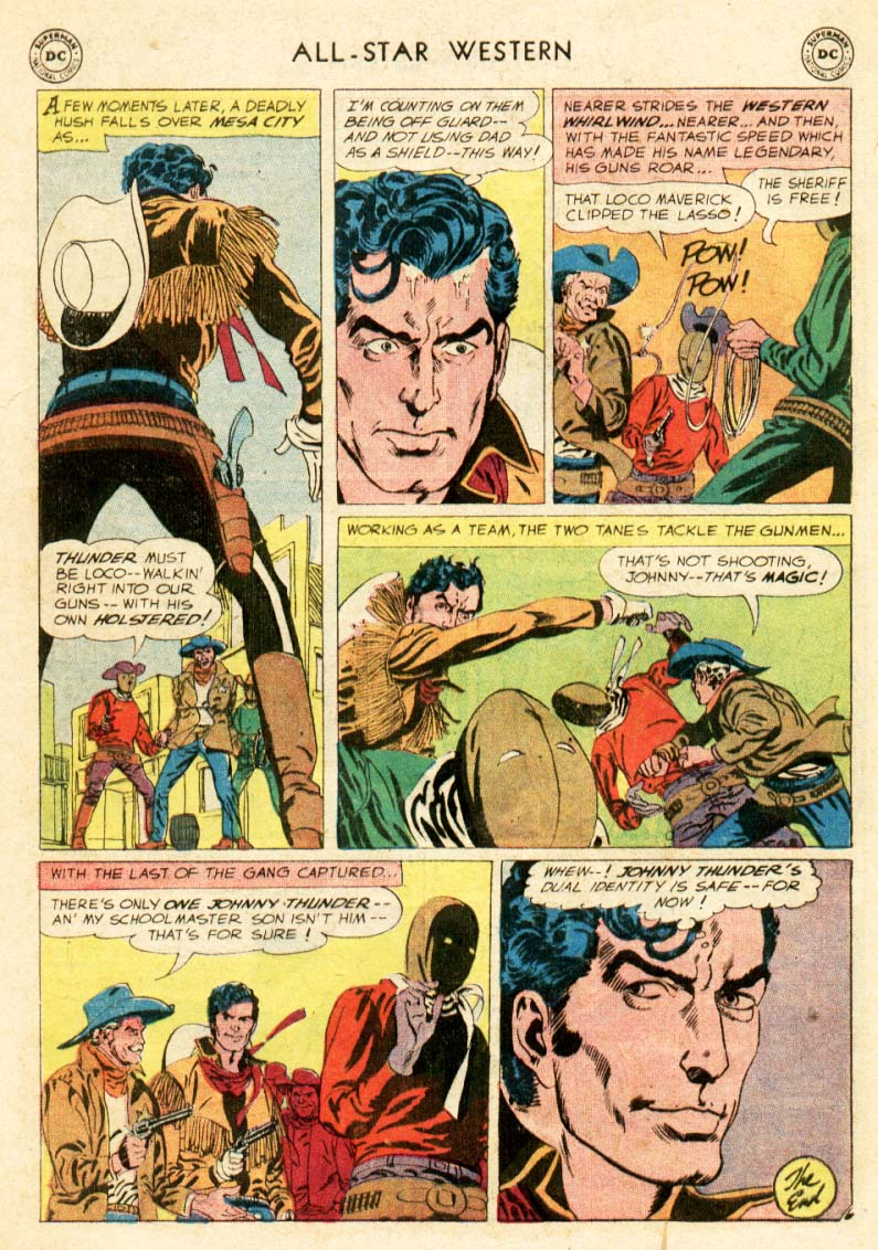 Read online All-Star Western (1951) comic -  Issue #97 - 28