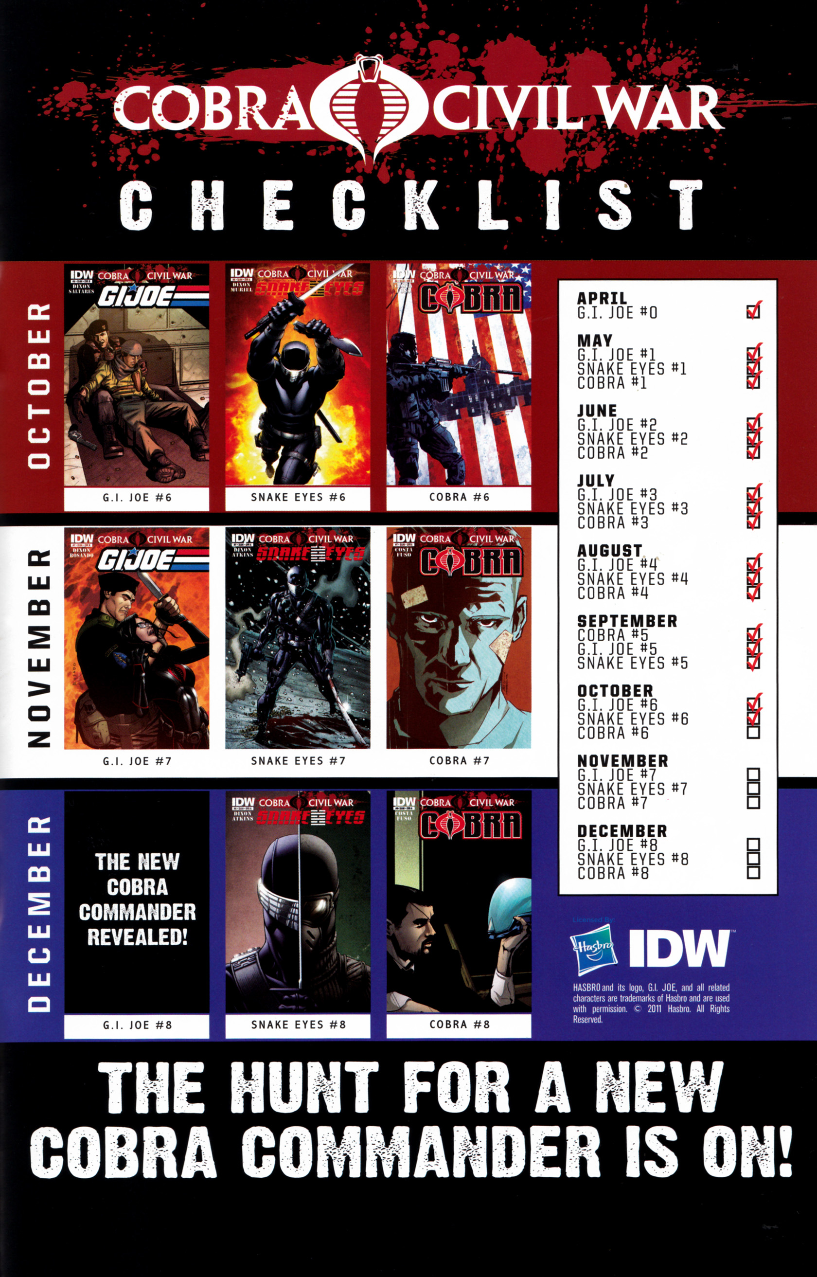 Read online G.I. Joe: Snake Eyes comic -  Issue #6 - 26