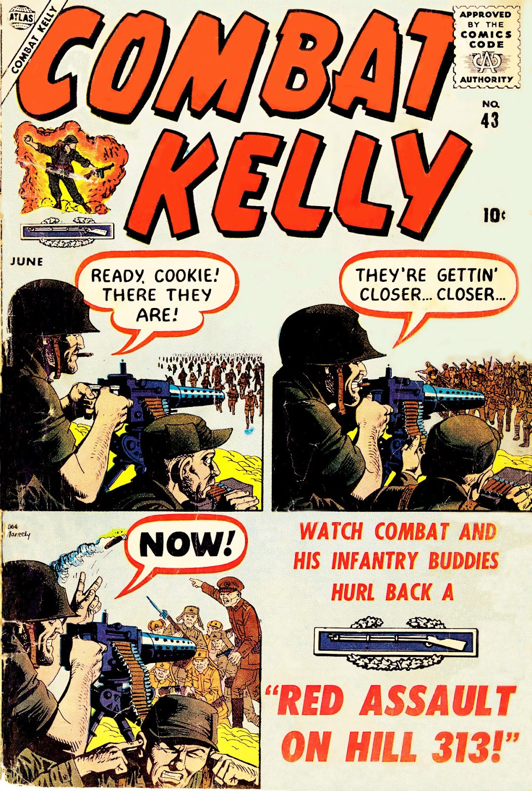 Combat Kelly (1951) issue 43 - Page 1