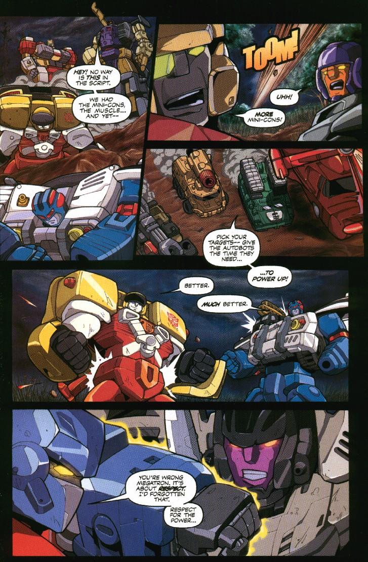 Read online Transformers Armada comic -  Issue #7 - 23