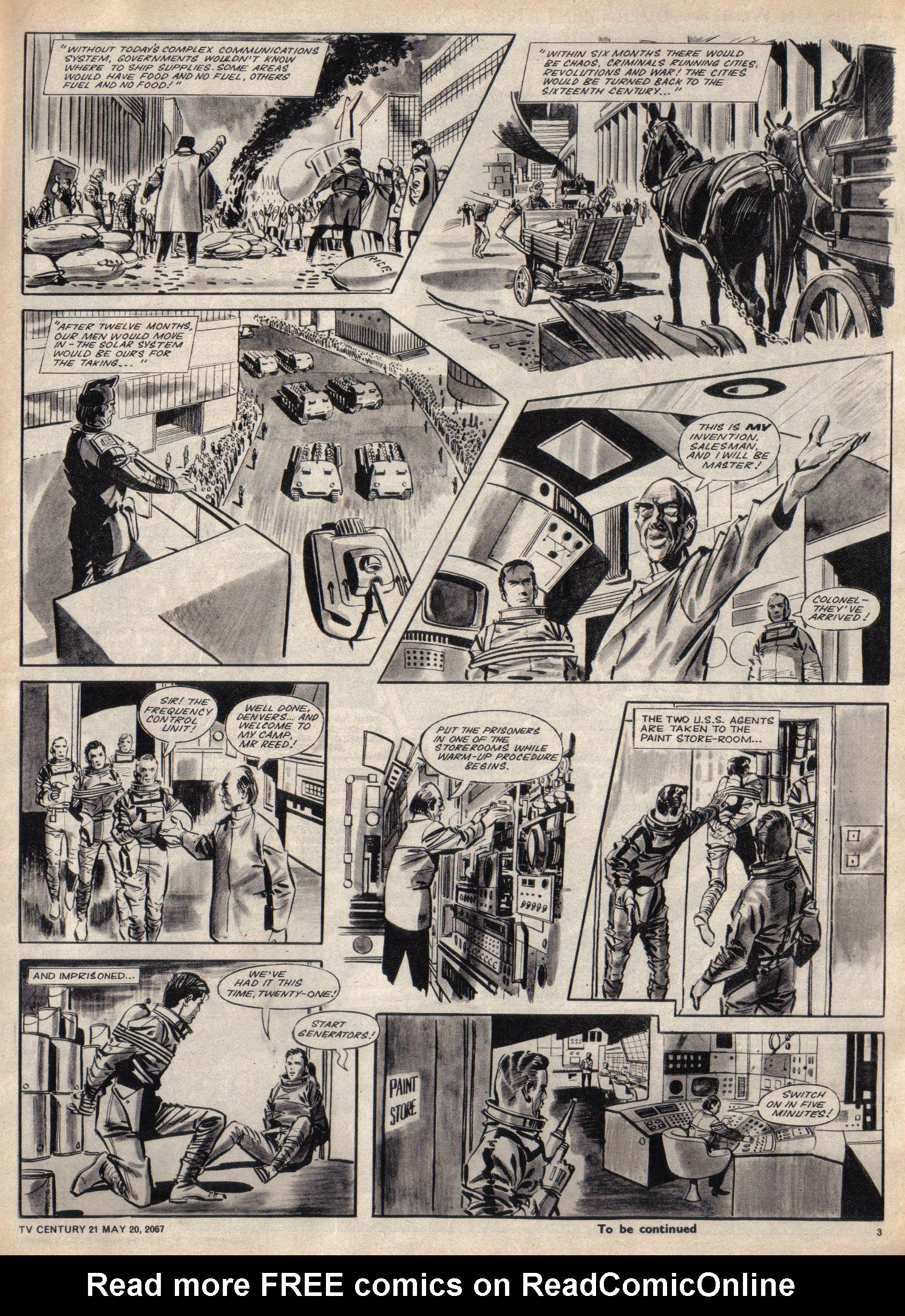 Read online TV Century 21 (TV 21) comic -  Issue #122 - 3