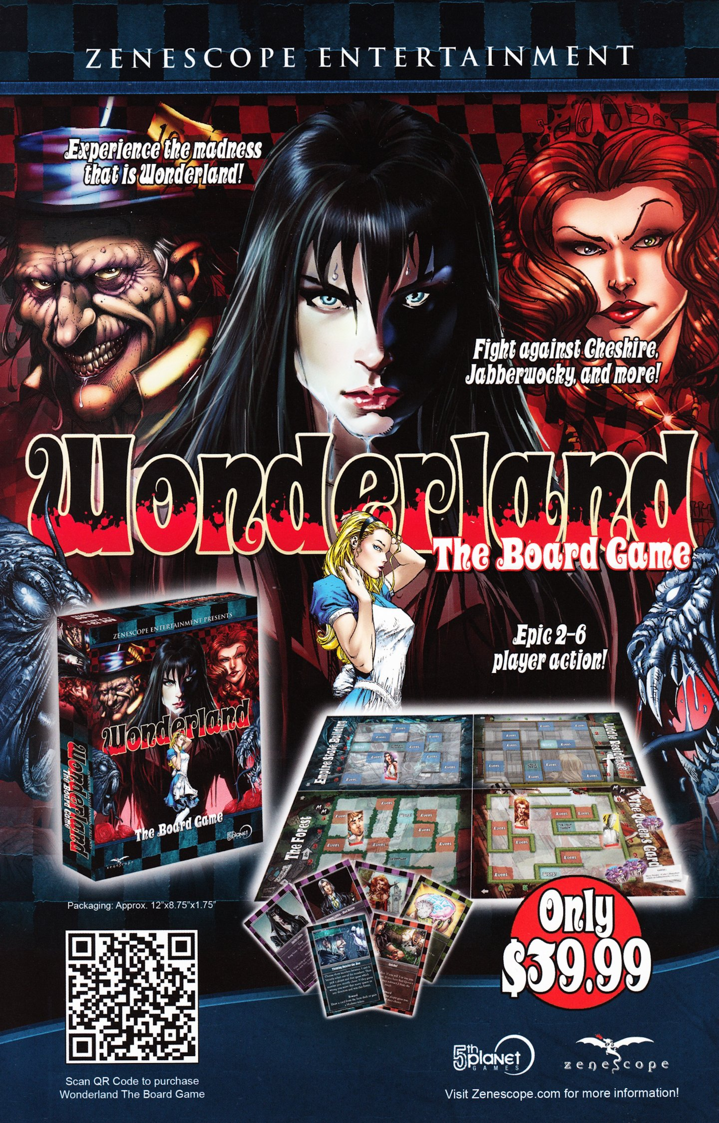 Read online Grimm Fairy Tales vs. Wonderland comic -  Issue #2 - 31