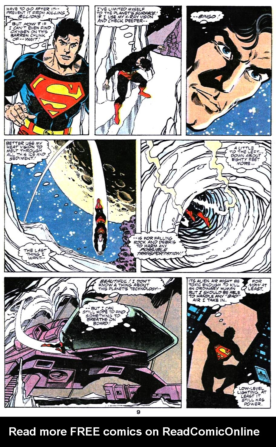 Read online Adventures of Superman (1987) comic -  Issue #477 - 10