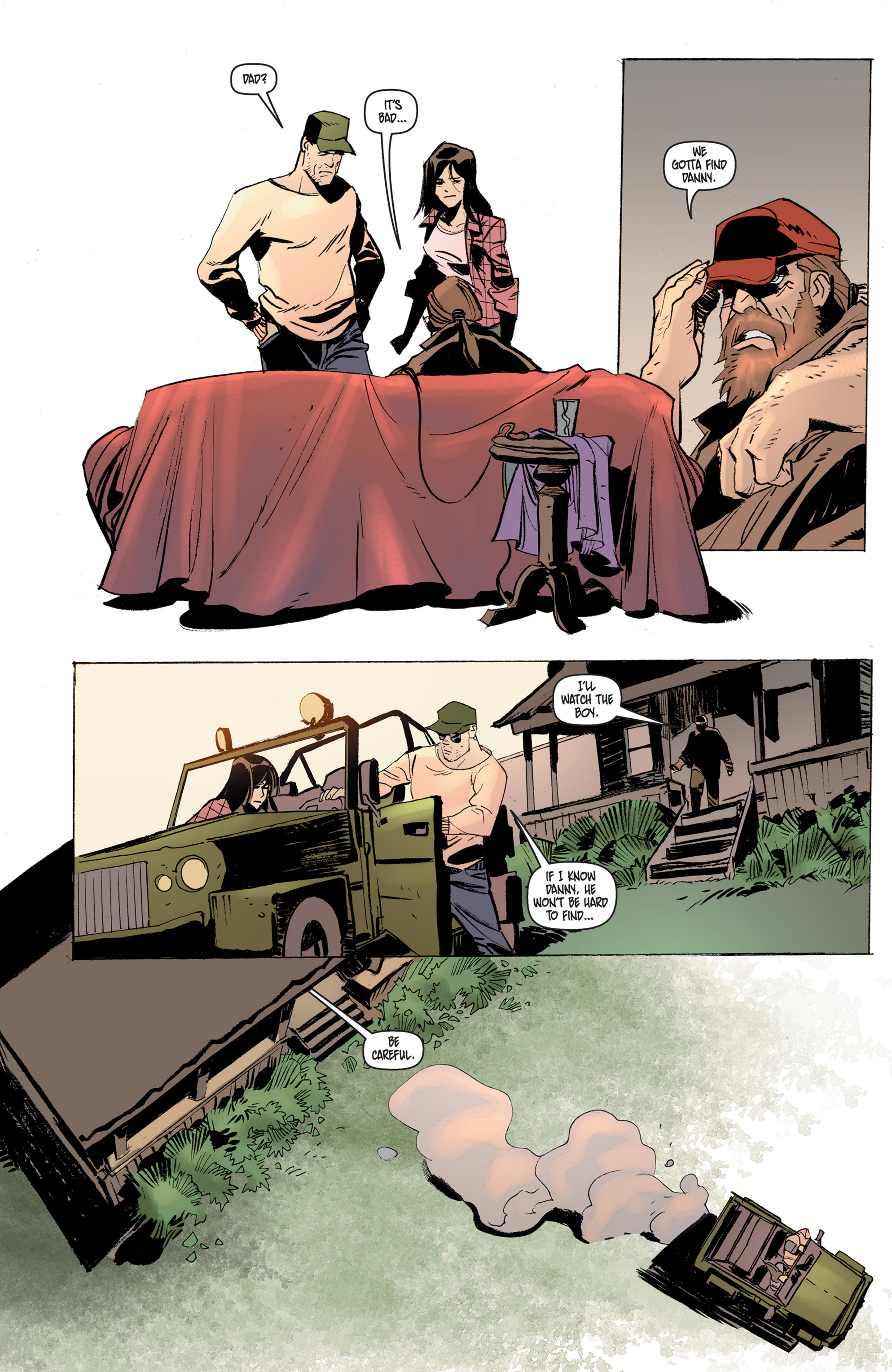 Read online Cannibal comic -  Issue #6 - 14